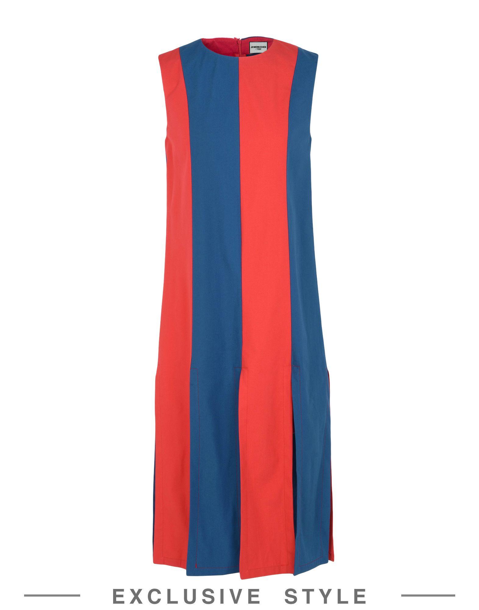 JI WON CHOI x YOOX Платье длиной 3/4 ji won choi x yoox бермуды
