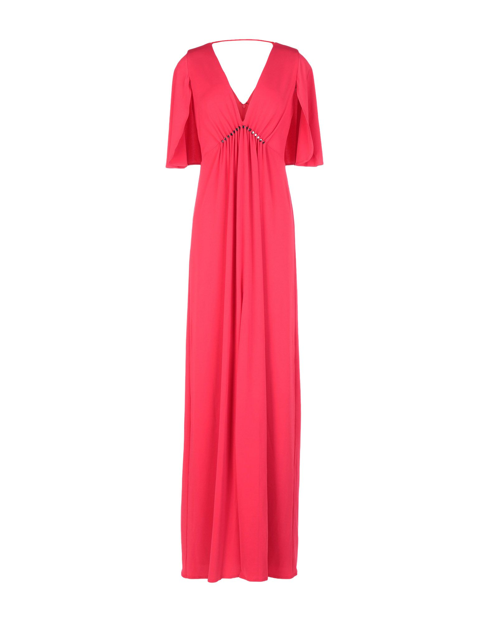 купить HALSTON HERITAGE Длинное платье по цене 8500 рублей