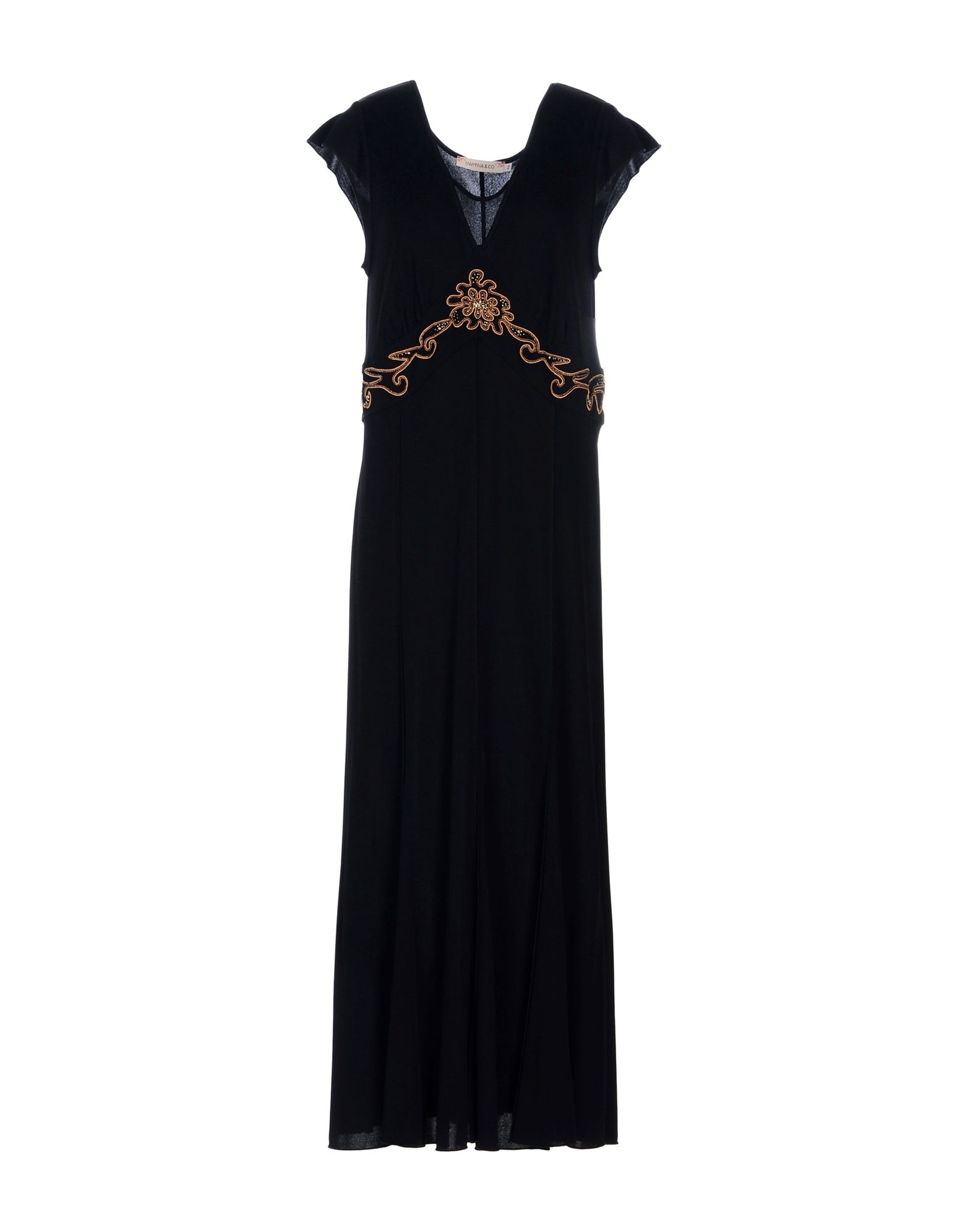 MARTINA & CO Платье длиной 3/4 la martina gmp607xc007 07088