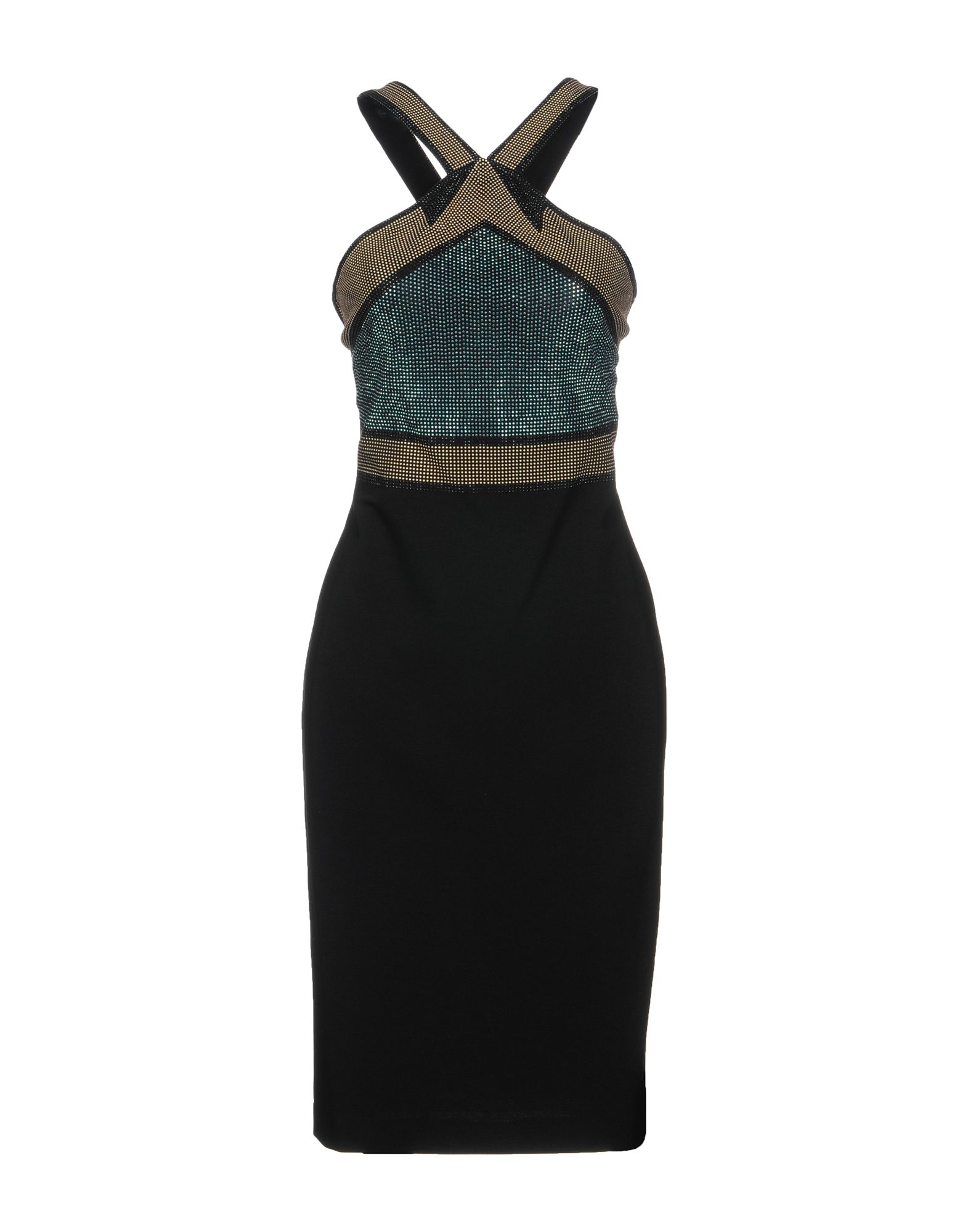 VERSACE COLLECTION Платье до колена gianni versace платье до колена