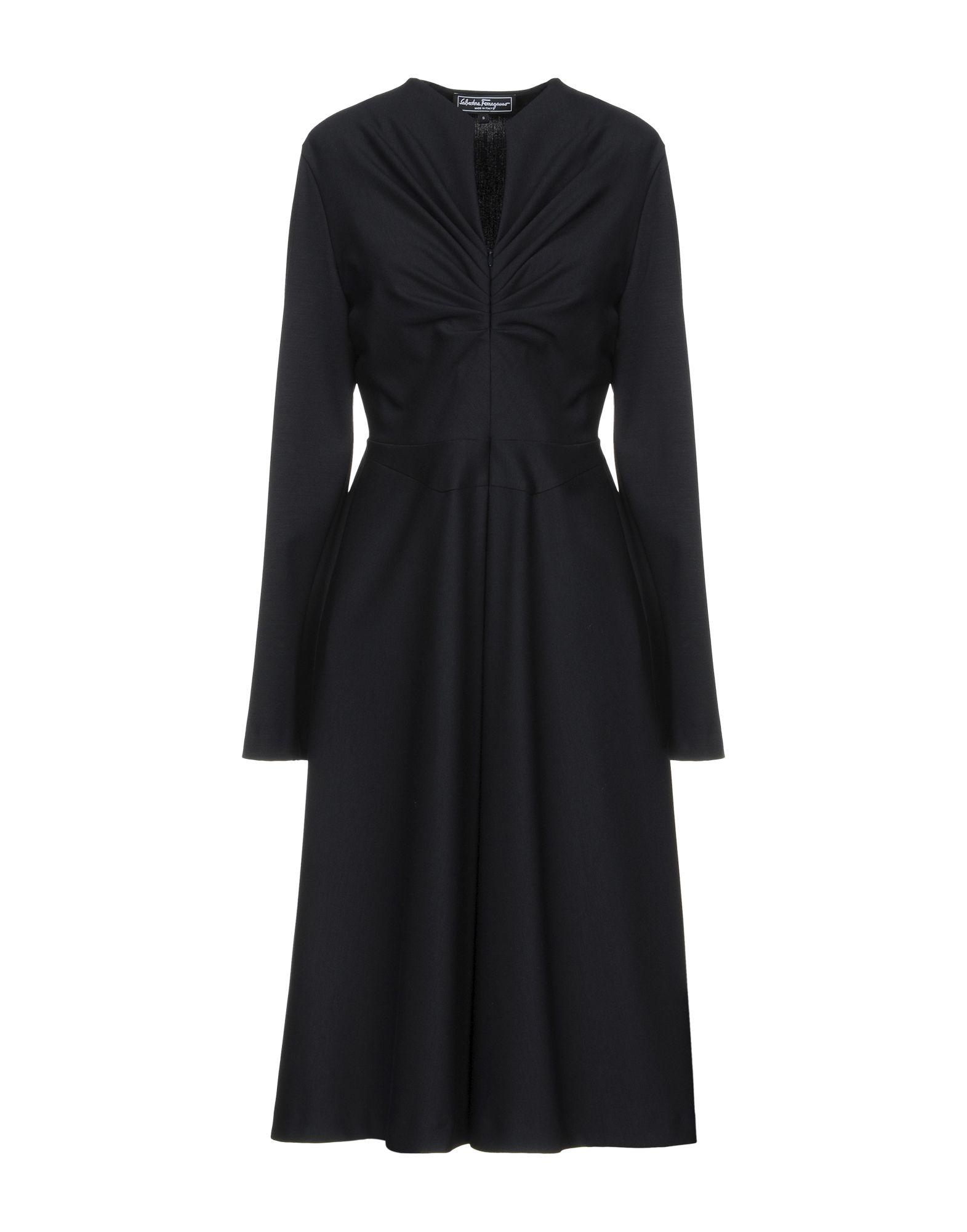 купить SALVATORE FERRAGAMO Платье до колена по цене 43500 рублей