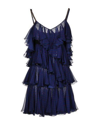 Короткое платье размер 42, 44 цвет фиолетовый