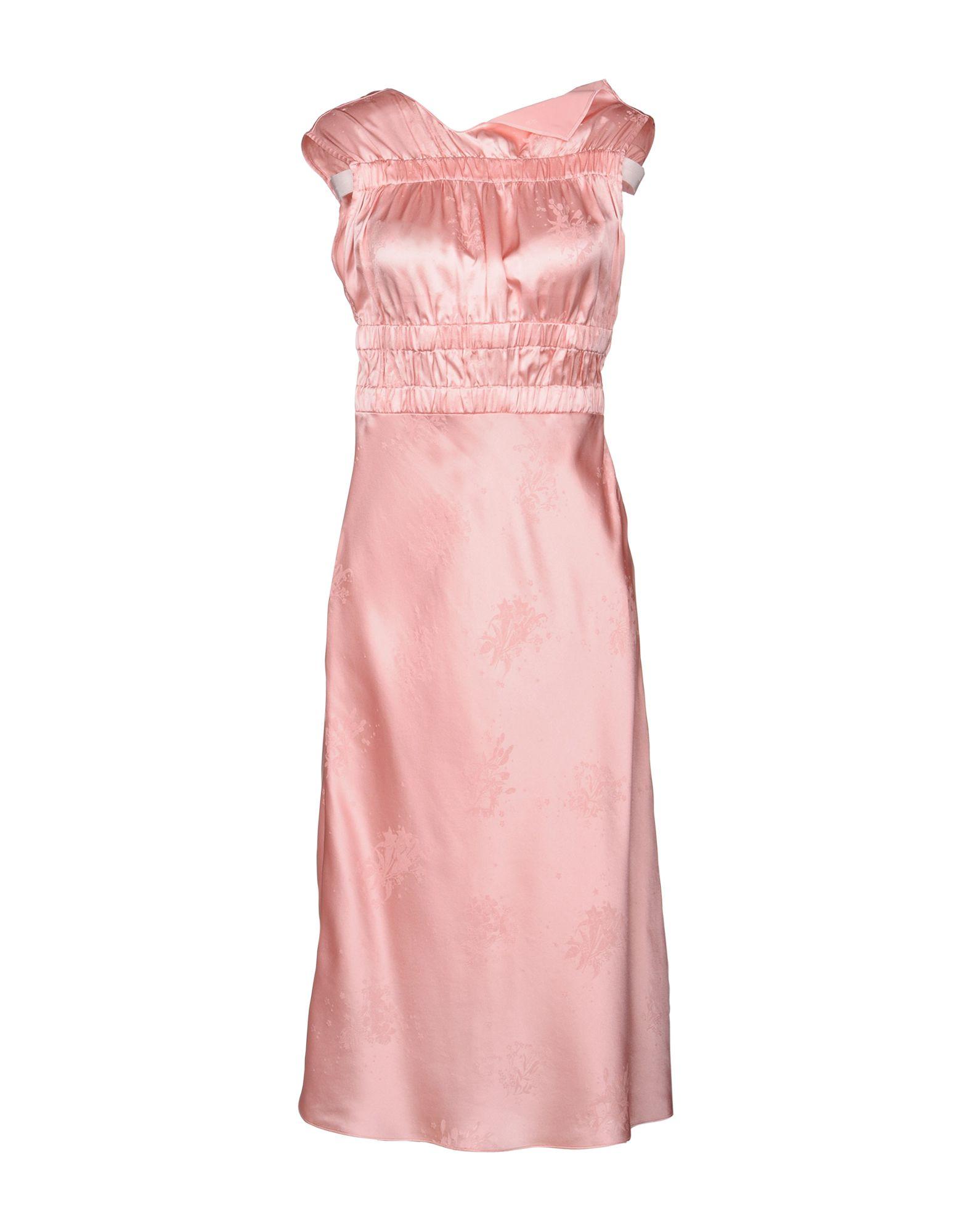 TOPSHOP UNIQUE Knee-Length Dress in Pink