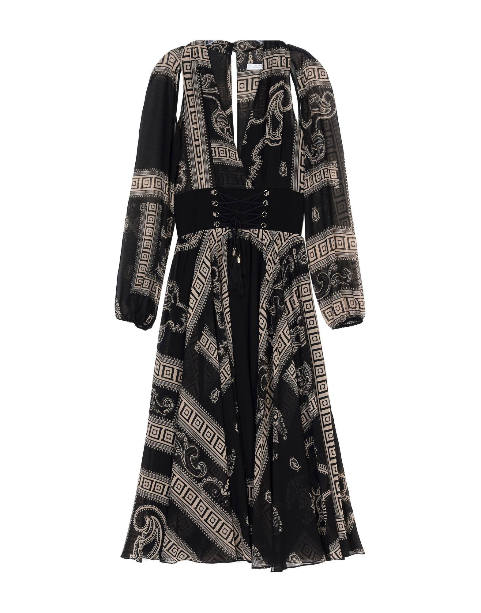 VERSACE COLLECTION Платье длиной 3/4 платье pettli collection pettli collection pe034ewkqe31