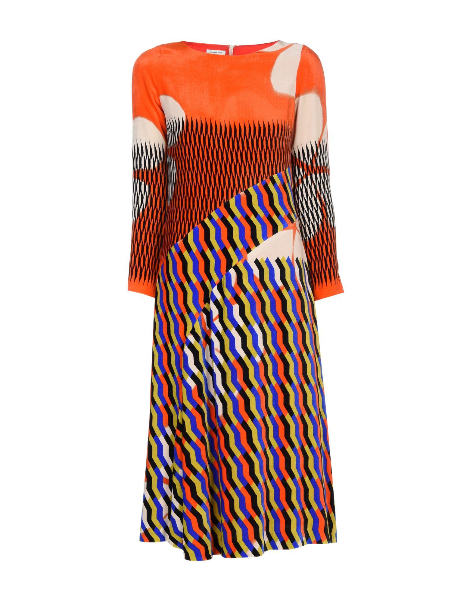 Фото - DRIES VAN NOTEN Платье длиной 3/4 v persie van basten 556688
