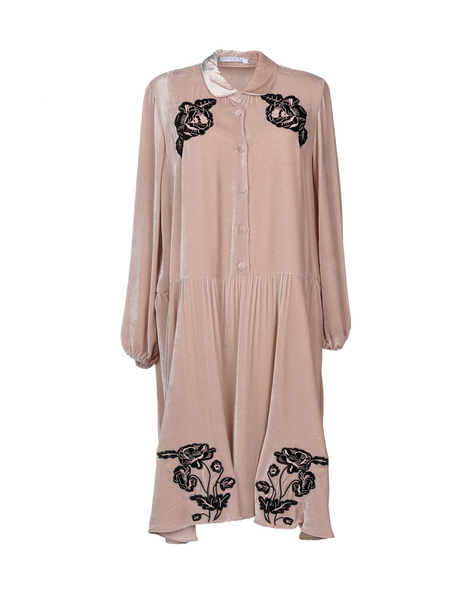 Vivetta Modesens Pale Length 34 In Dress Pink rPrRqCw