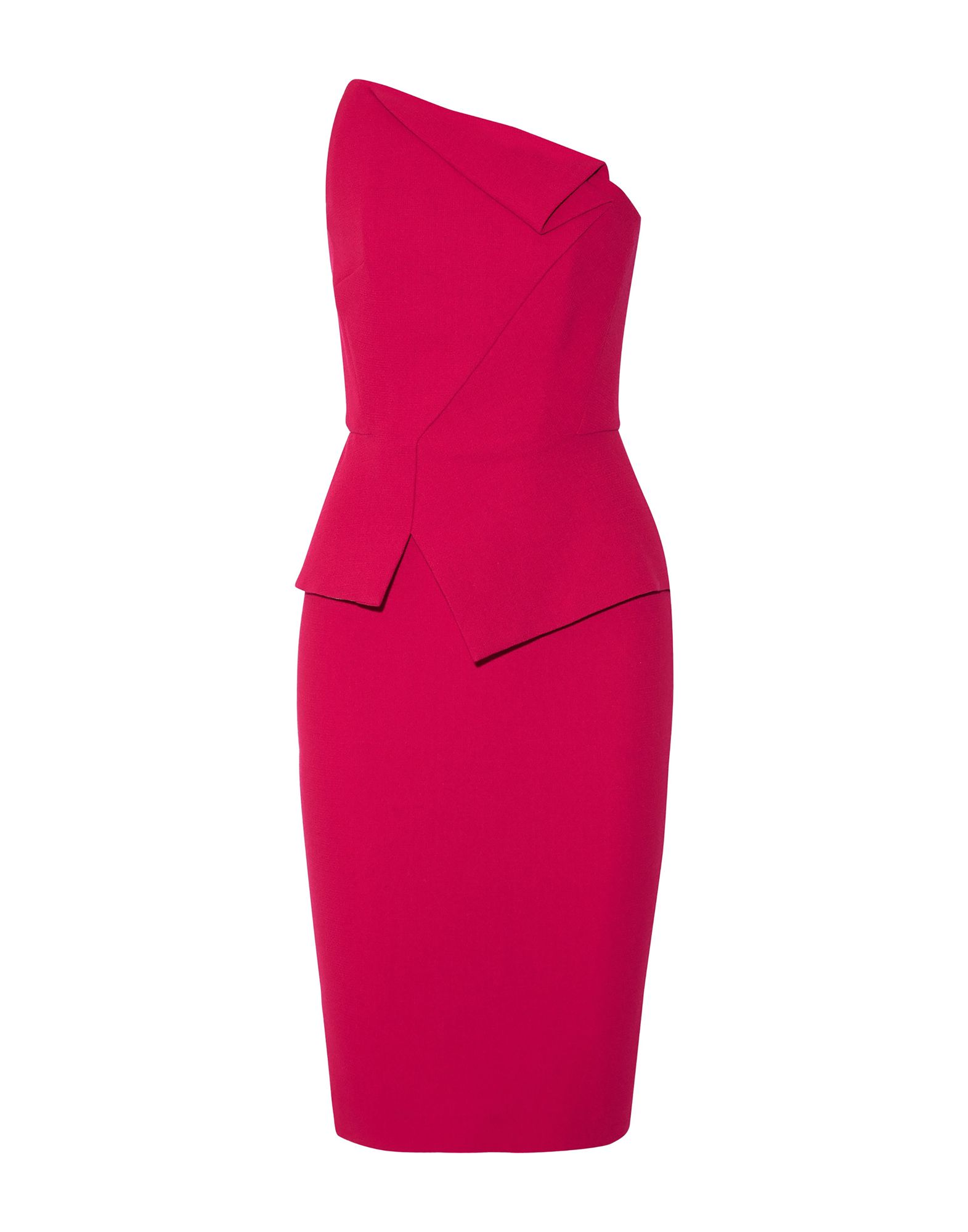 ROLAND MOURET Короткое платье roland mouret однотонное платье cheveley