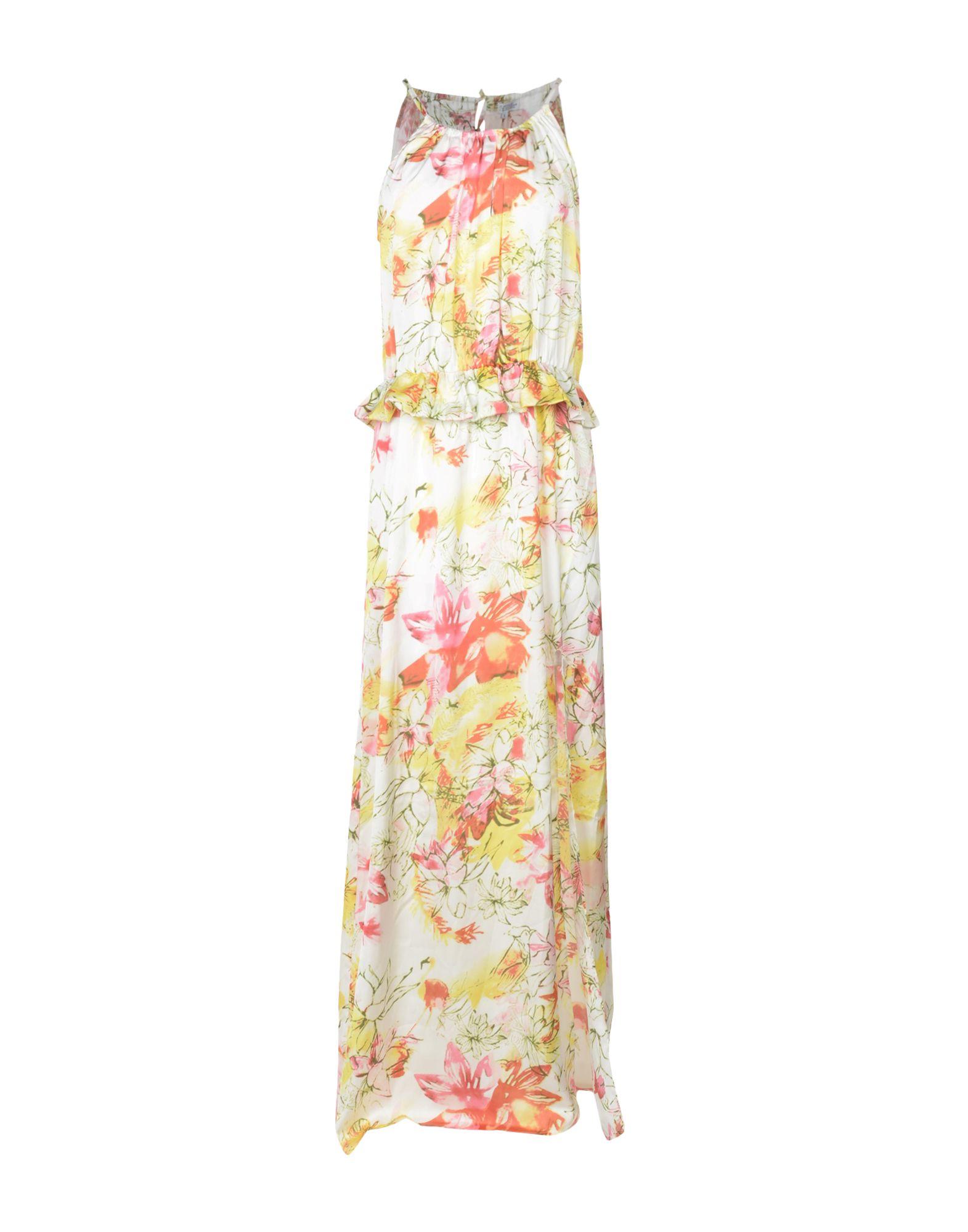 L.A. BLUE ROSE Длинное платье платье без рукавов printio roses on blue