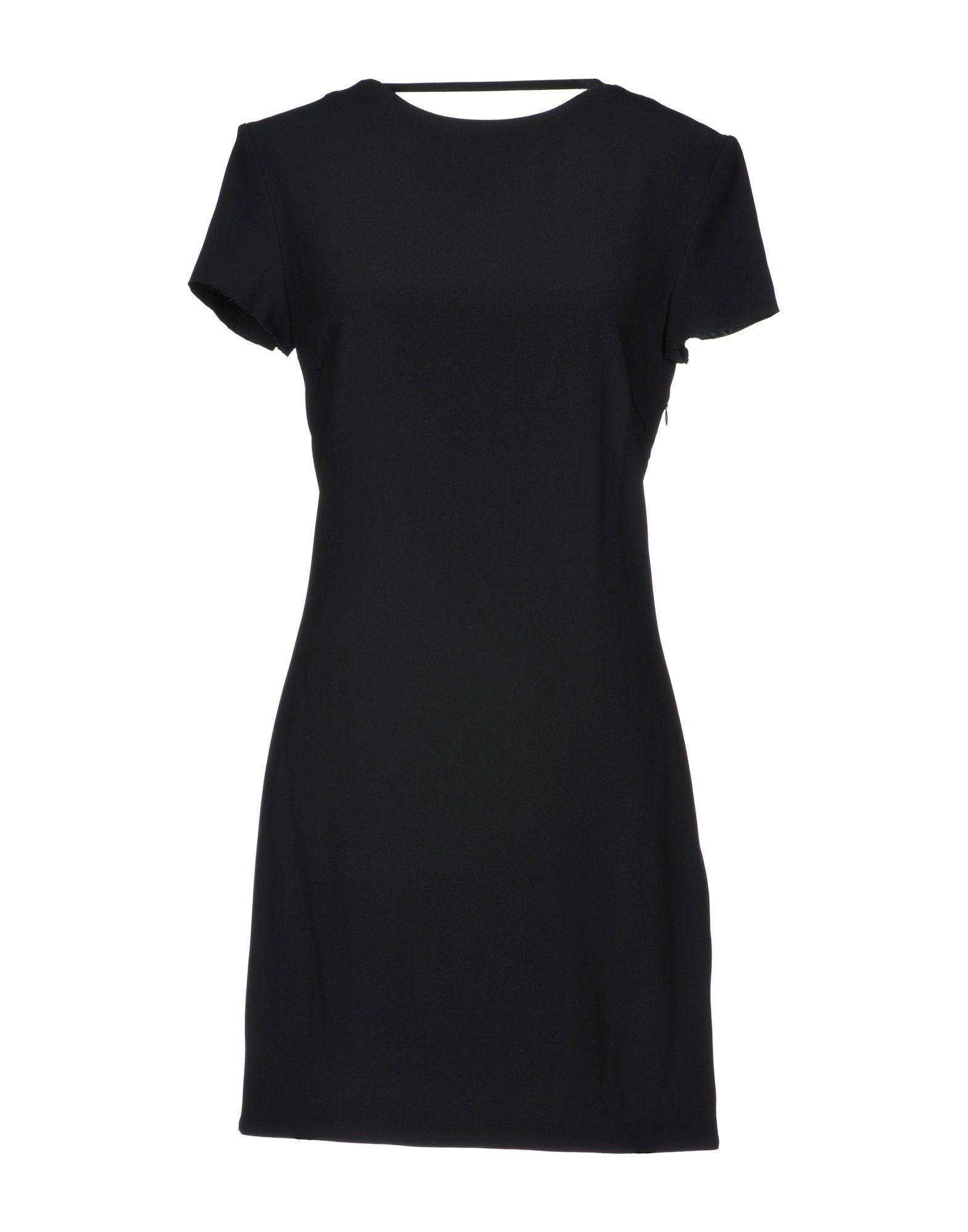 где купить HELMUT LANG Короткое платье по лучшей цене
