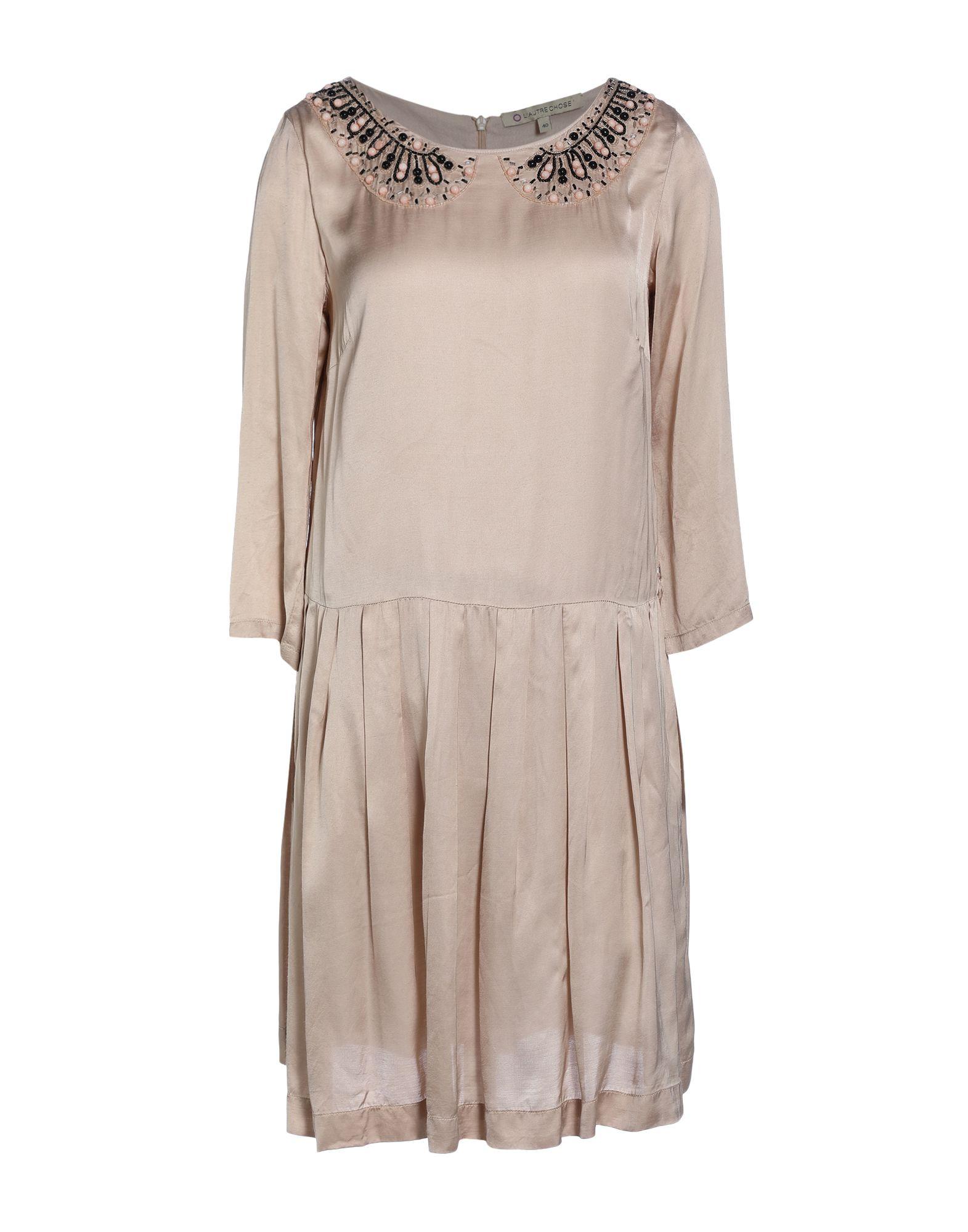 L' AUTRE CHOSE Короткое платье l autre chose платье длиной 3 4