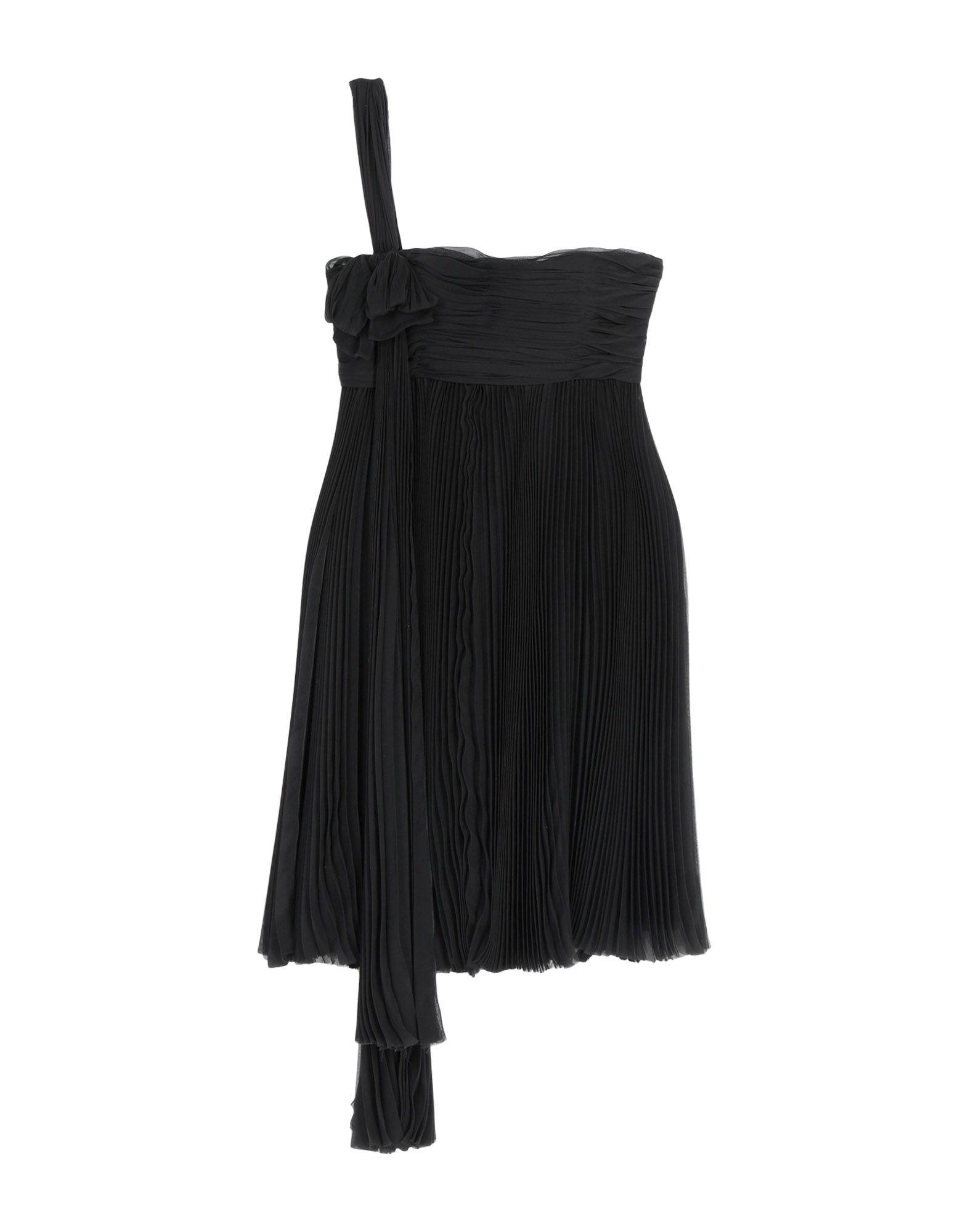 DSQUARED2 Damen Kurzes Kleid4 schwarz