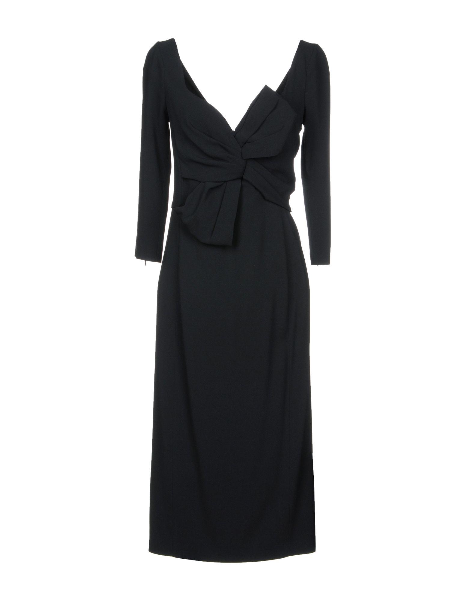 DSQUARED2  Damen Knielanges Kleid3 schwarz