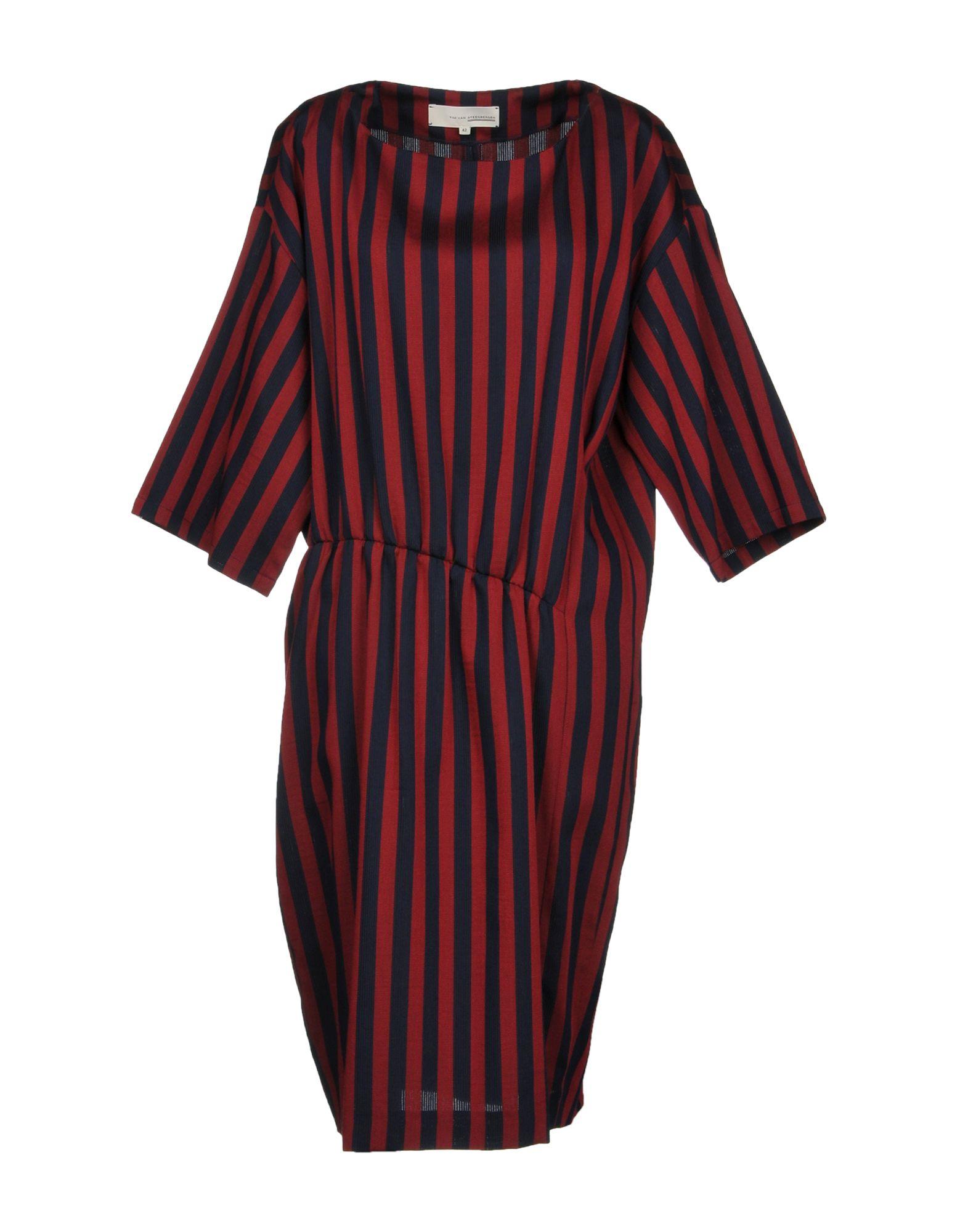 TIM VAN STEENBERGEN Платье до колена цены онлайн