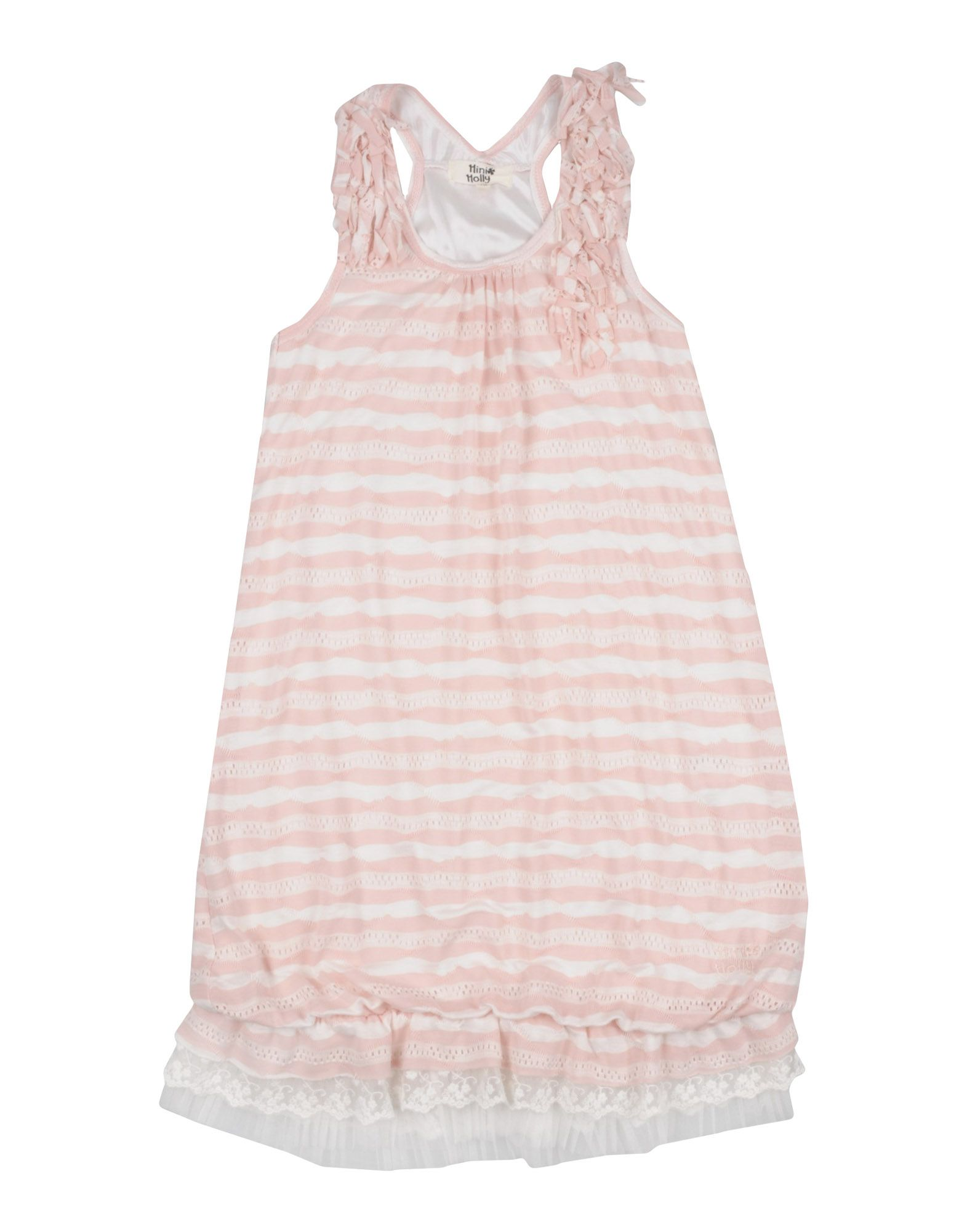 MINI MOLLY Платье платье без рукавов с кружевной вставкой на спинке