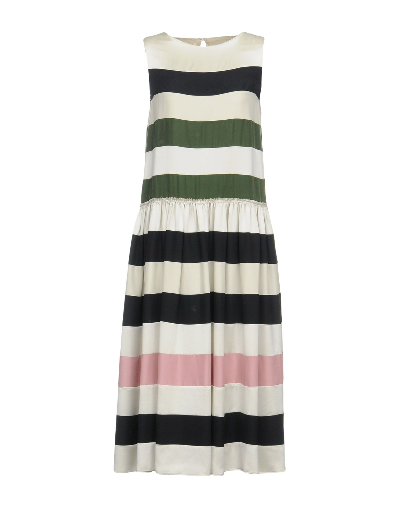 CHRISTIAN WIJNANTS Платье длиной 3/4 christian wijnants топ без рукавов