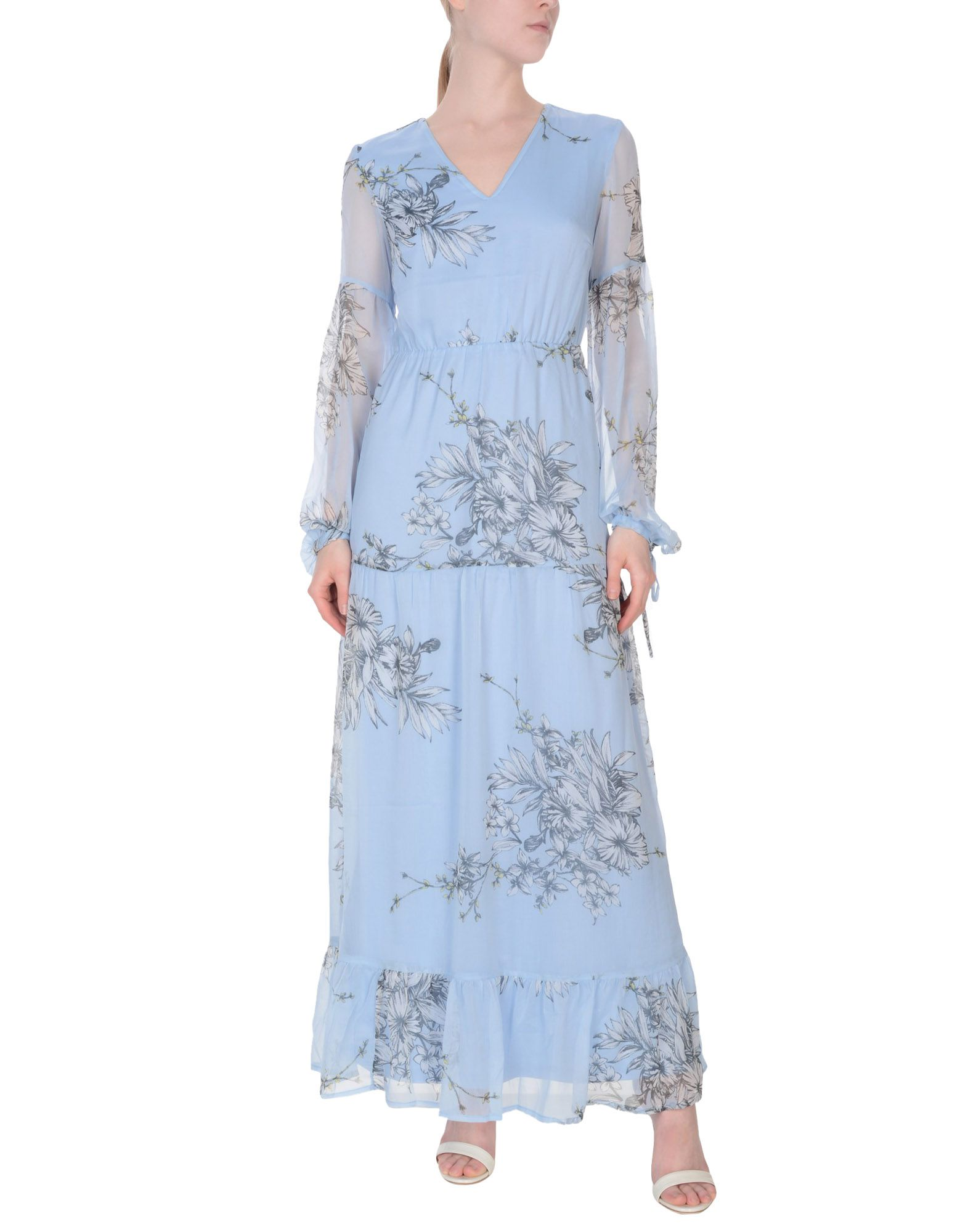VERO MODA Длинное платье блуза vero moda vero moda ve389ewzku18