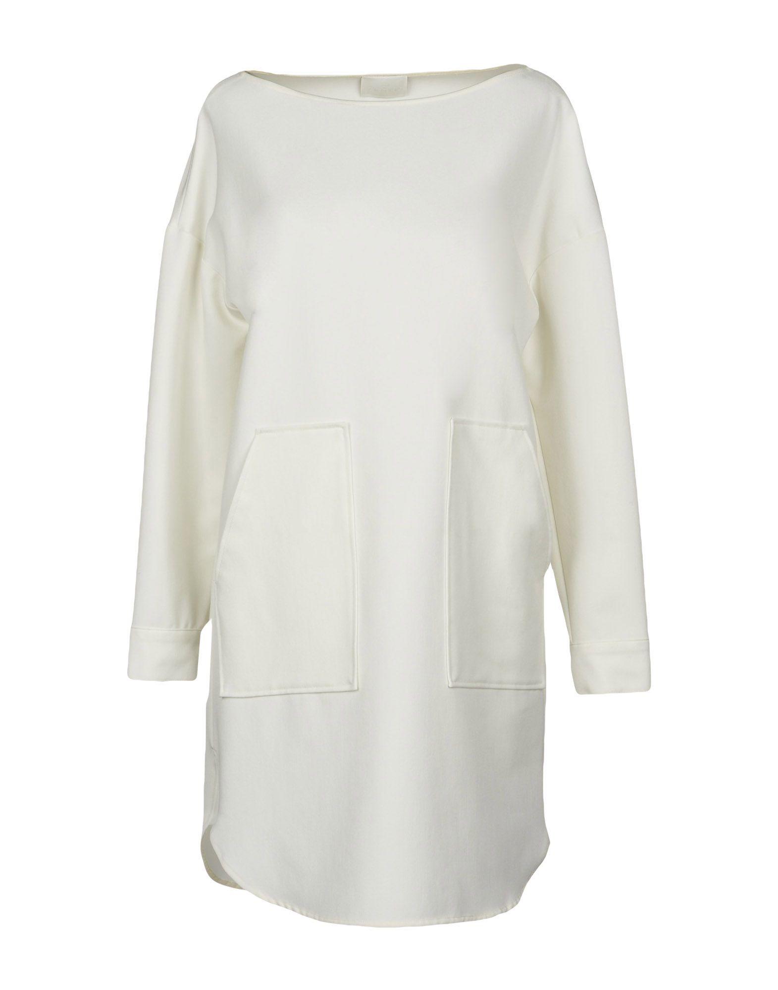 GOTHA Knee-Length Dress in White