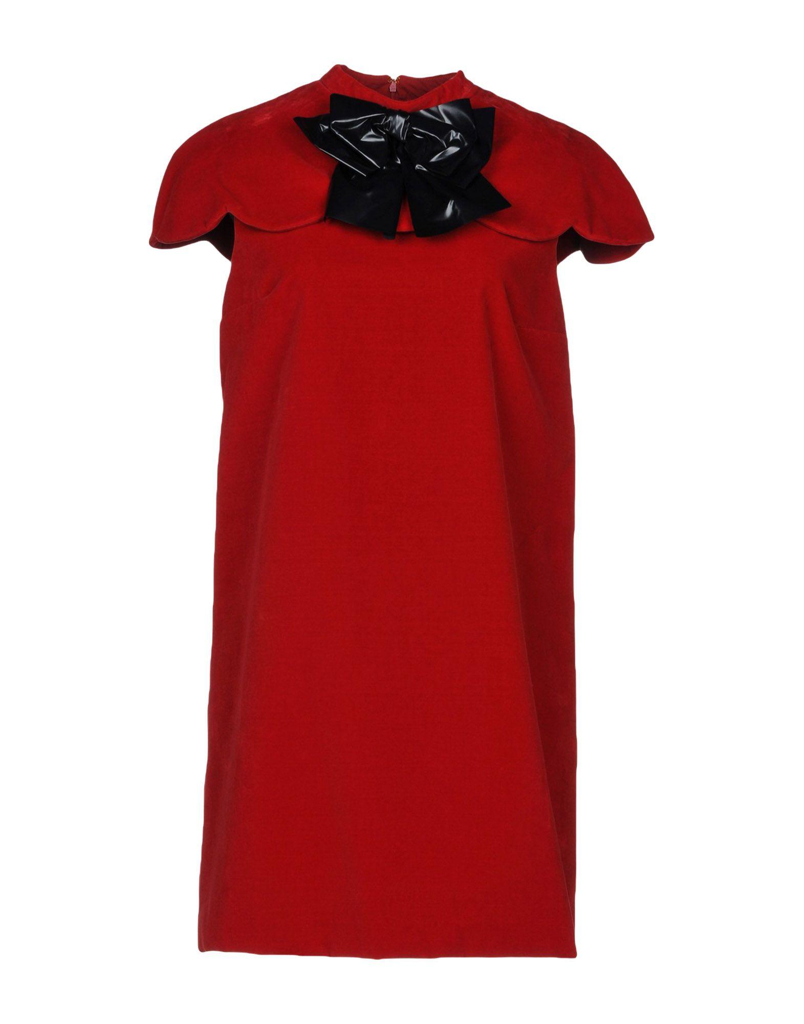 DANIELE CARLOTTA Short Dress in Red