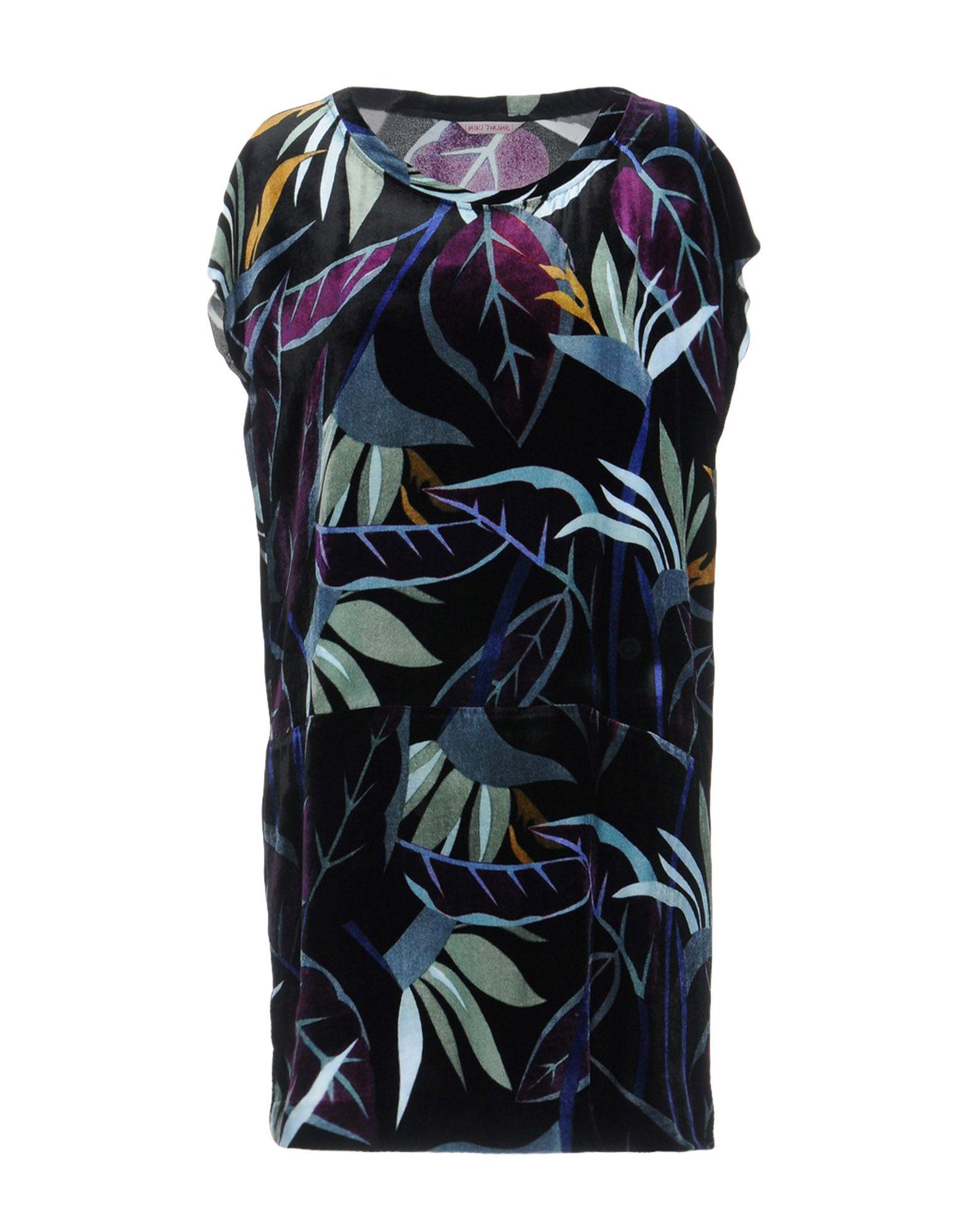 MIKI THUMB Короткое платье цена 2017