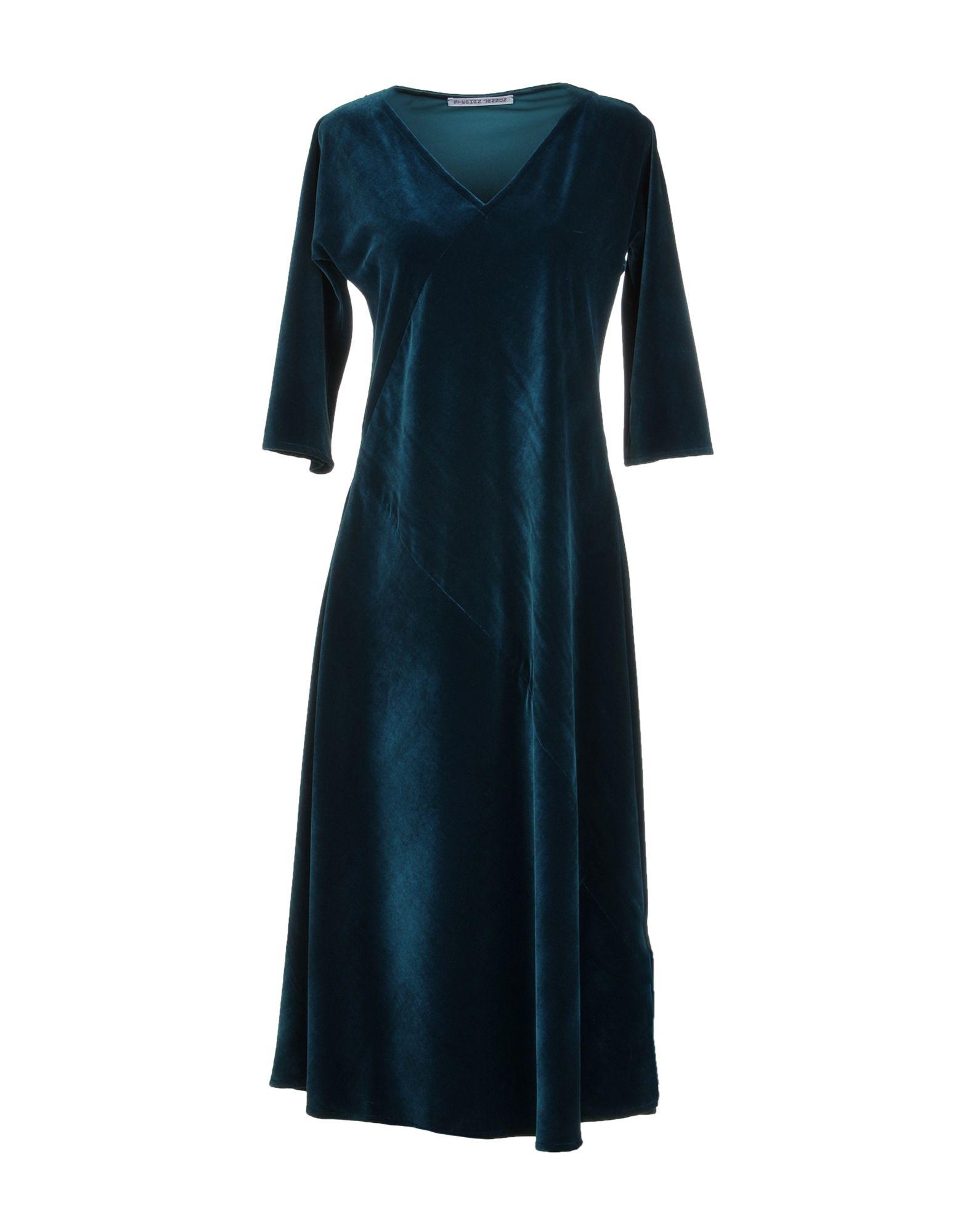 STEPHAN JANSON Knee-Length Dress in Deep Jade