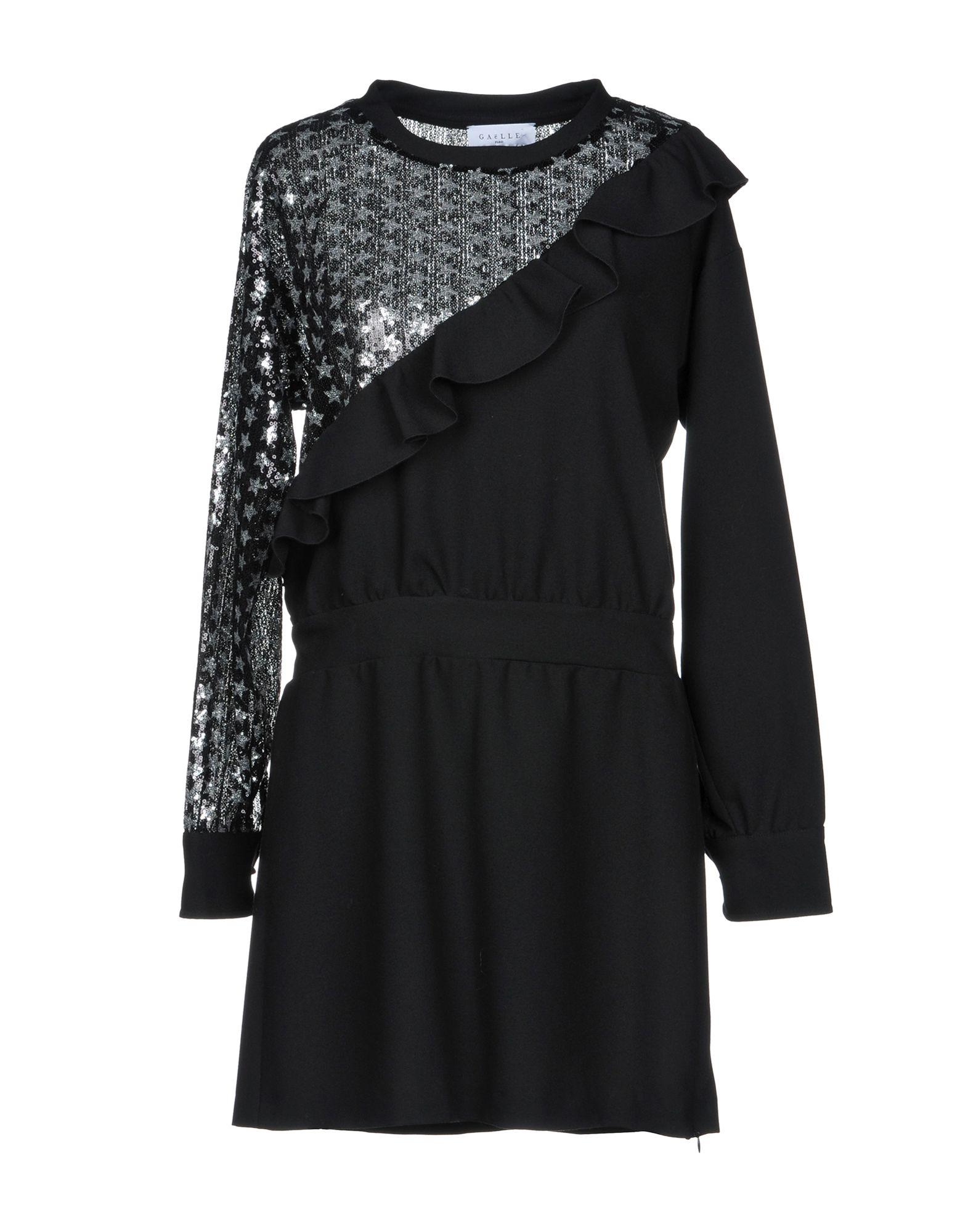 GAëLLE Paris Короткое платье gaëlle paris длинное платье