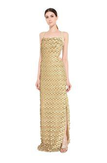 ALBERTA FERRETTI Tremblant embroidered tulle dress Long Dress Woman f