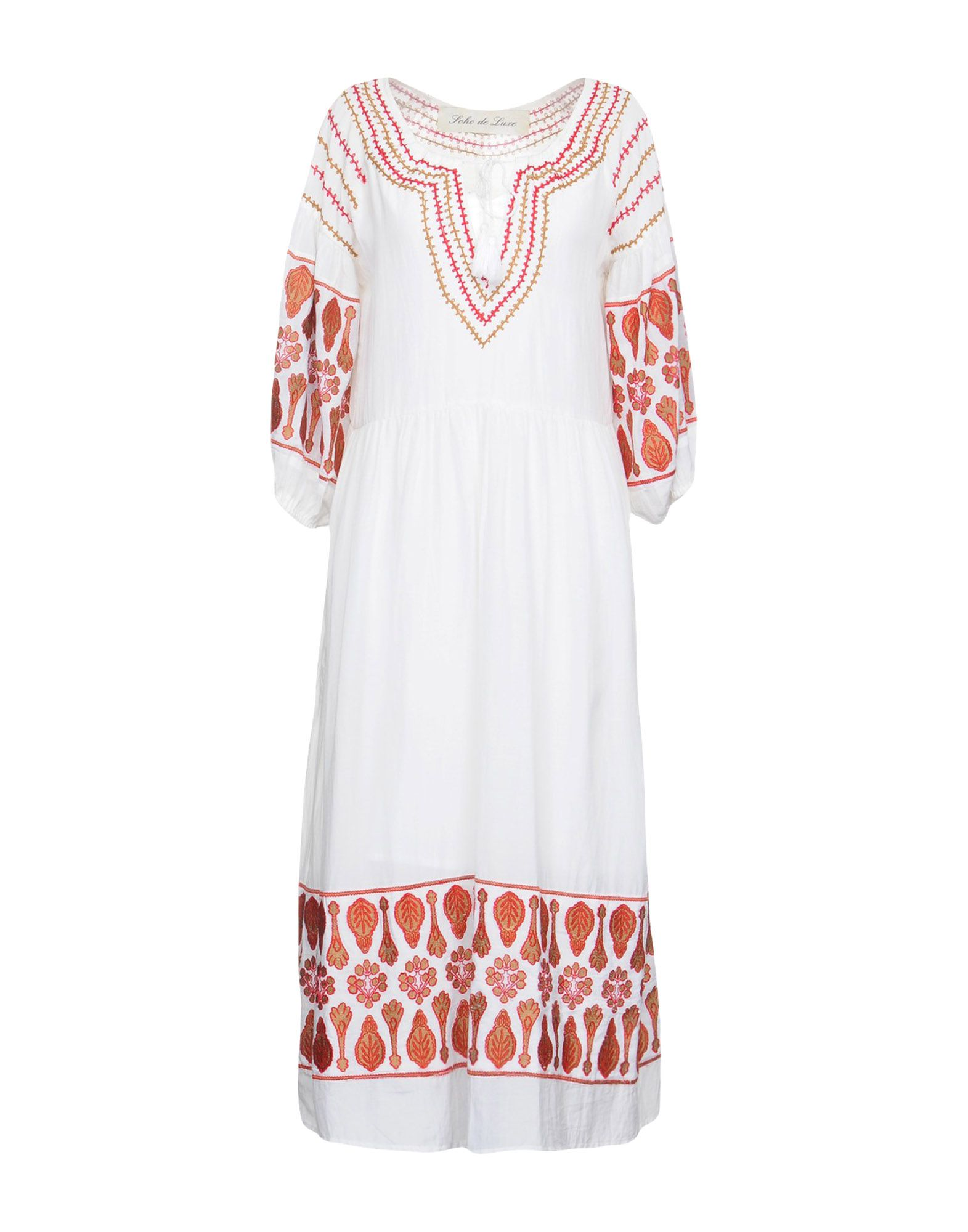 SOHO DE LUXE Платье длиной 3/4 soho de luxe платье до колена
