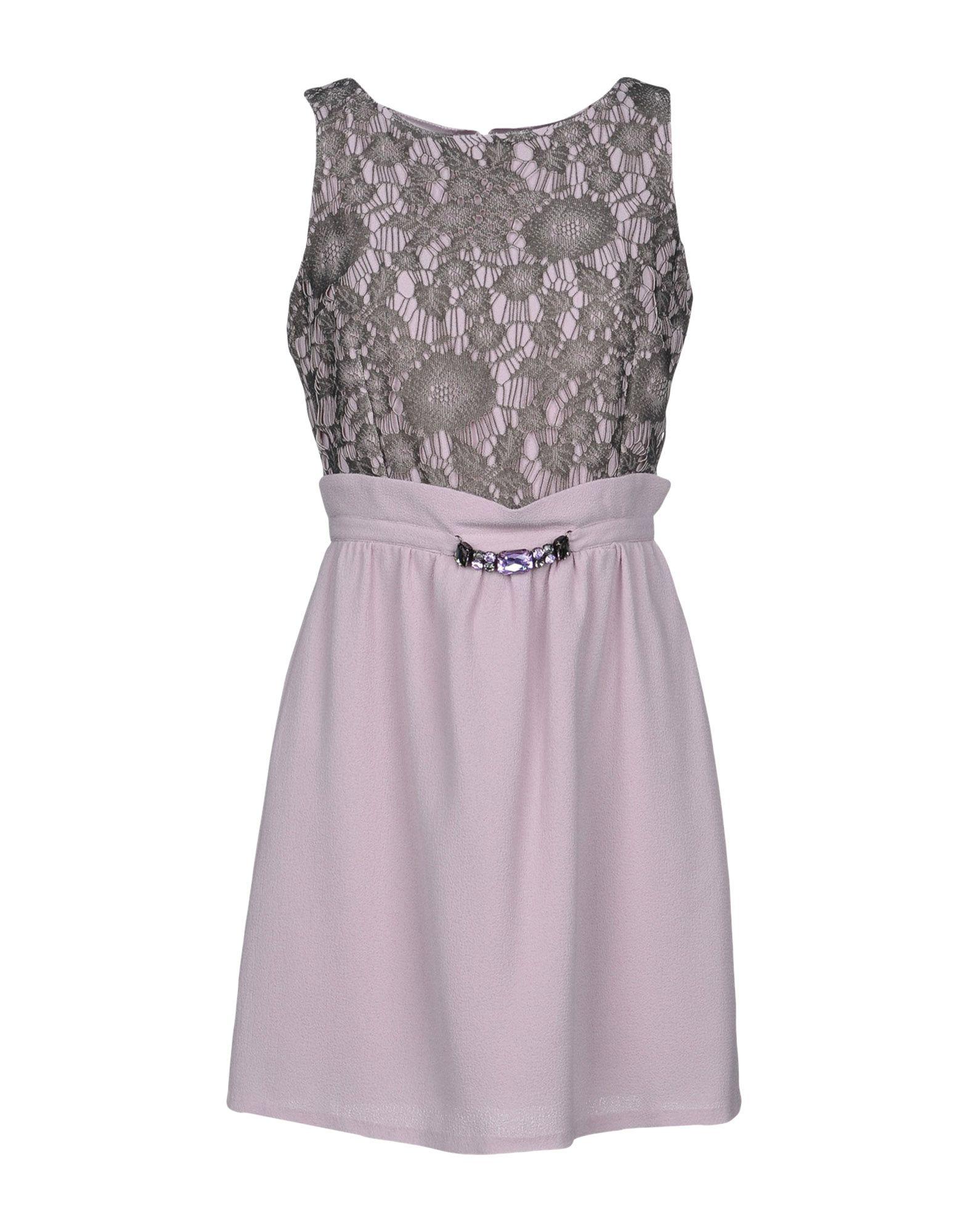 LUCKY LU Milano Короткое платье lucky lu milano короткое платье
