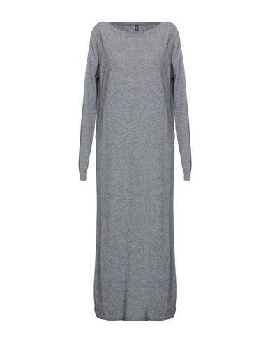 Фото - Платье длиной 3/4 от ELEVENTY серого цвета