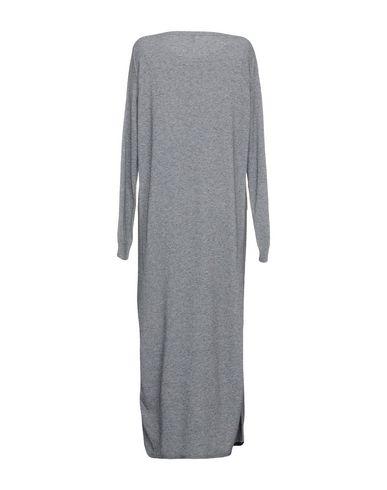 Фото 2 - Платье длиной 3/4 от ELEVENTY серого цвета