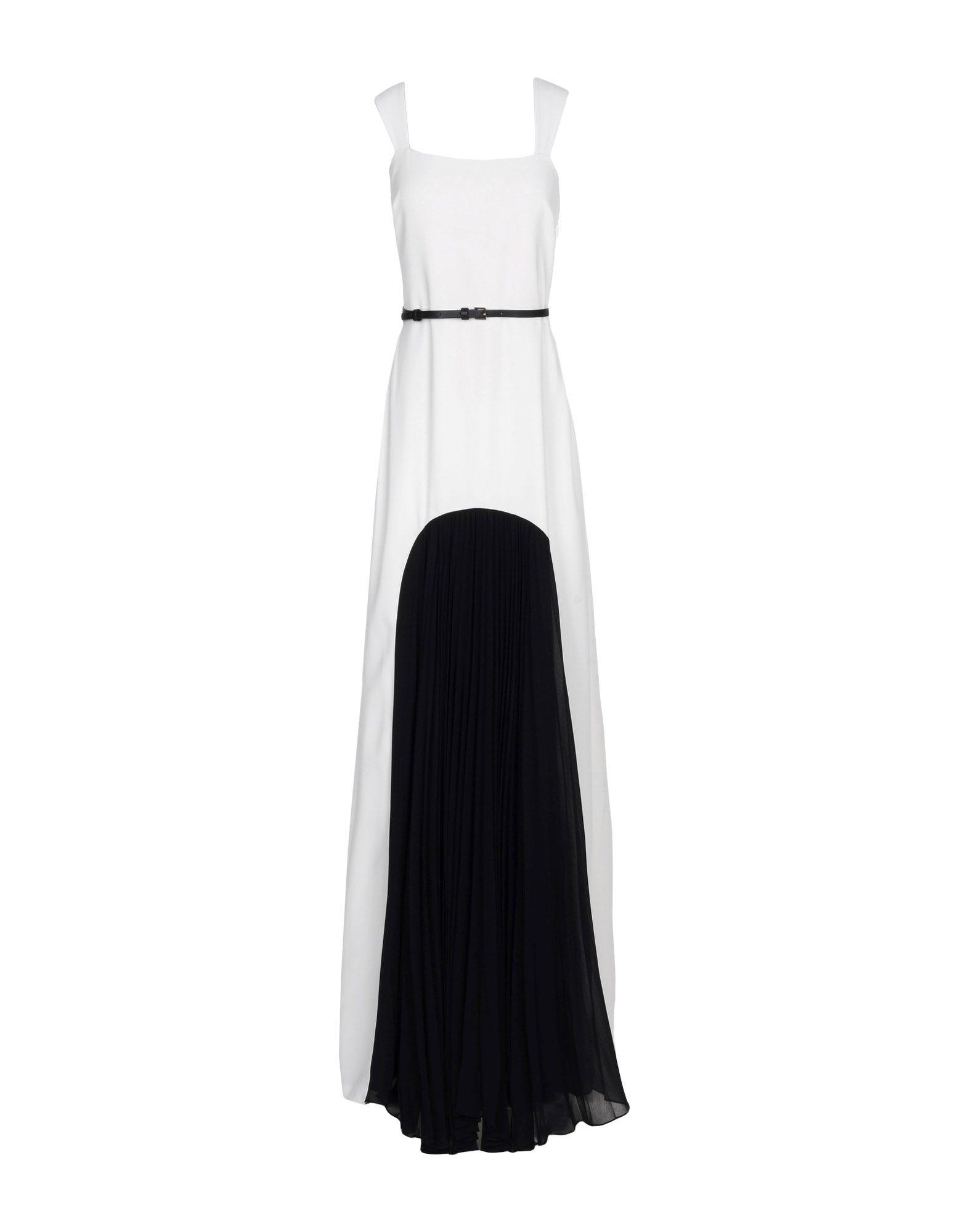 HALSTON HERITAGE Длинное платье