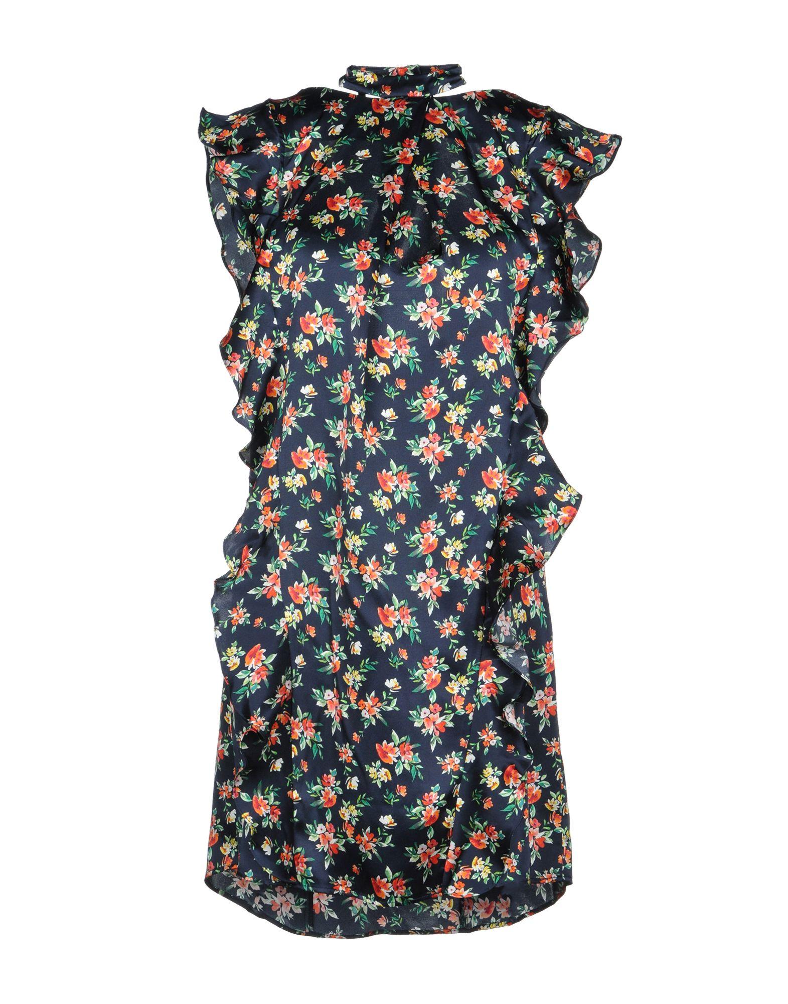 MARISSA WEBB Короткое платье demoniq magnetic marissa черное короткое платье с цветочной вышивкой