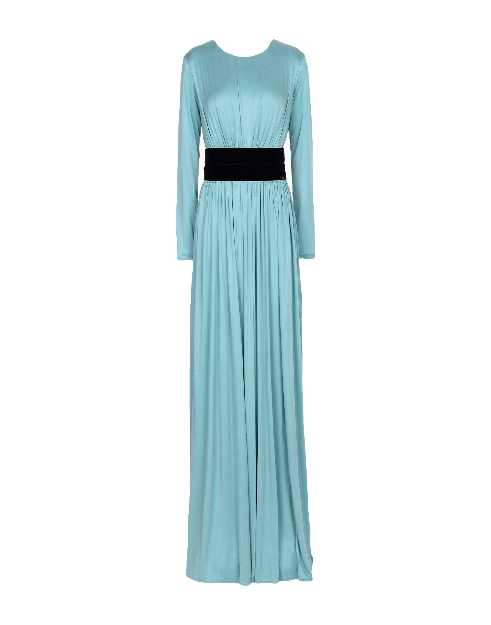 ELISABETTA FRANCHI Длинное платье stylish gothic letter shape embroidery winter baseball cap for women