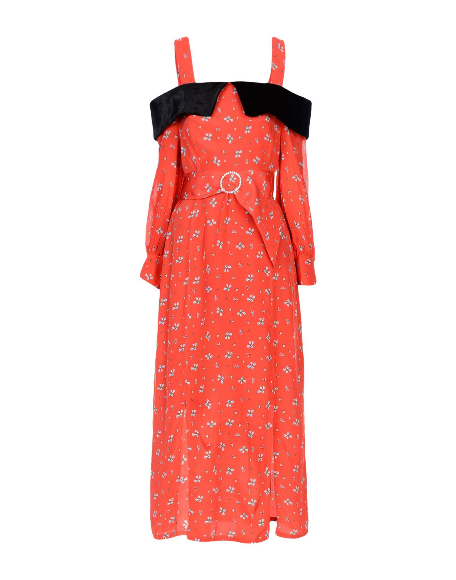 RIXO London Платье длиной 3/4