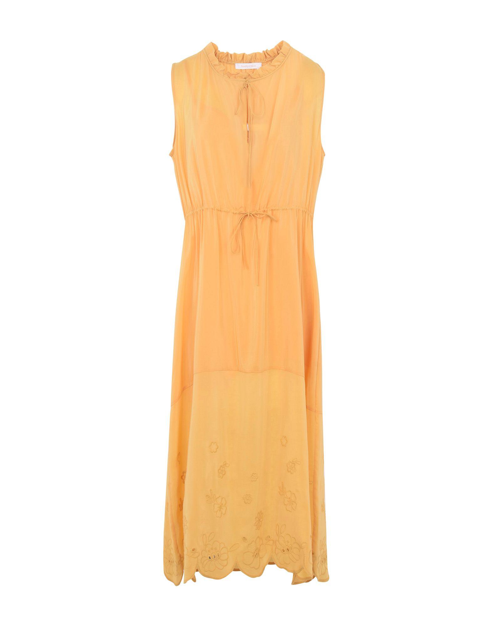 SEE BY CHLOÉ Длинное платье peace love by calao длинное платье