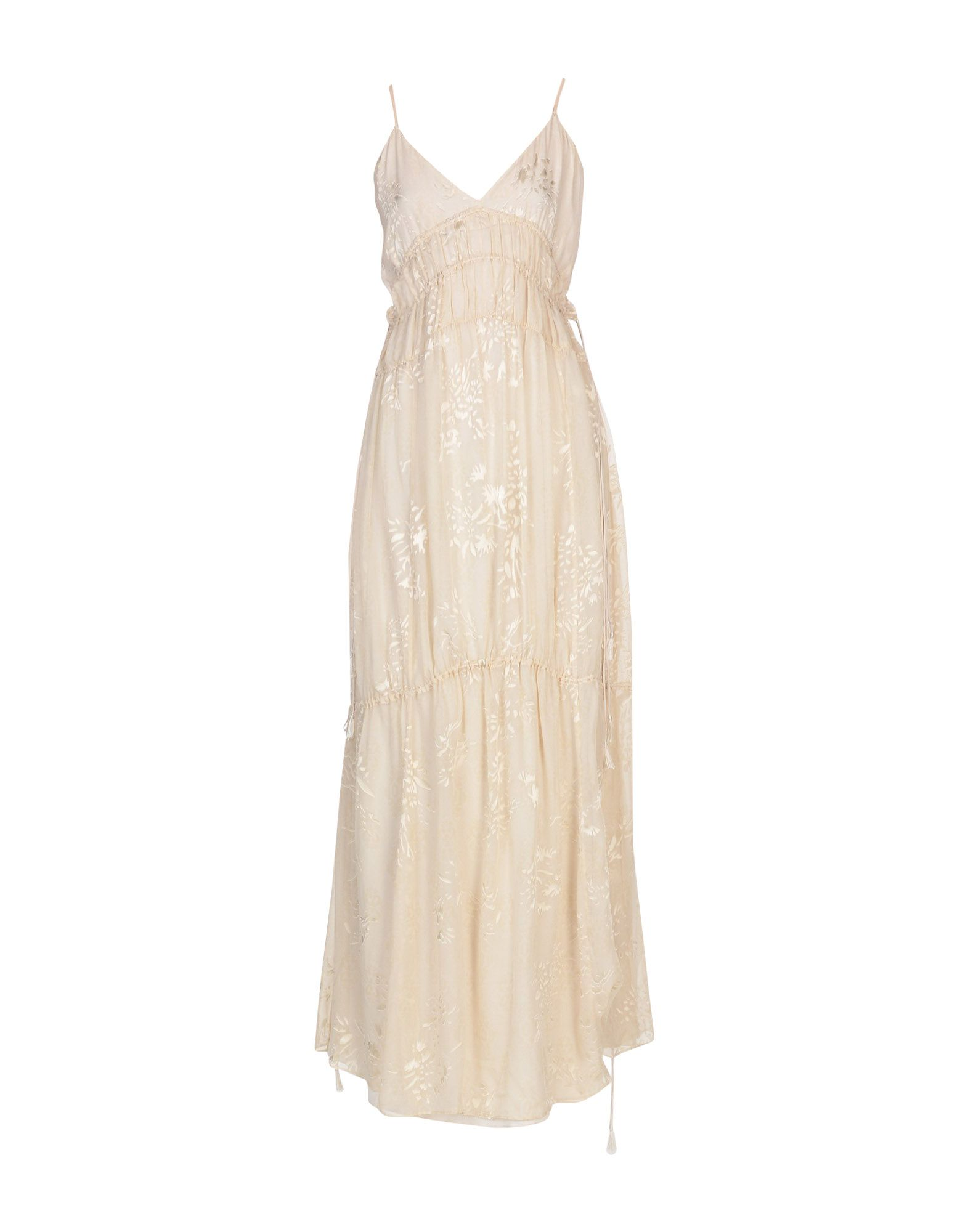 HAUTE HIPPIE Длинное платье цены