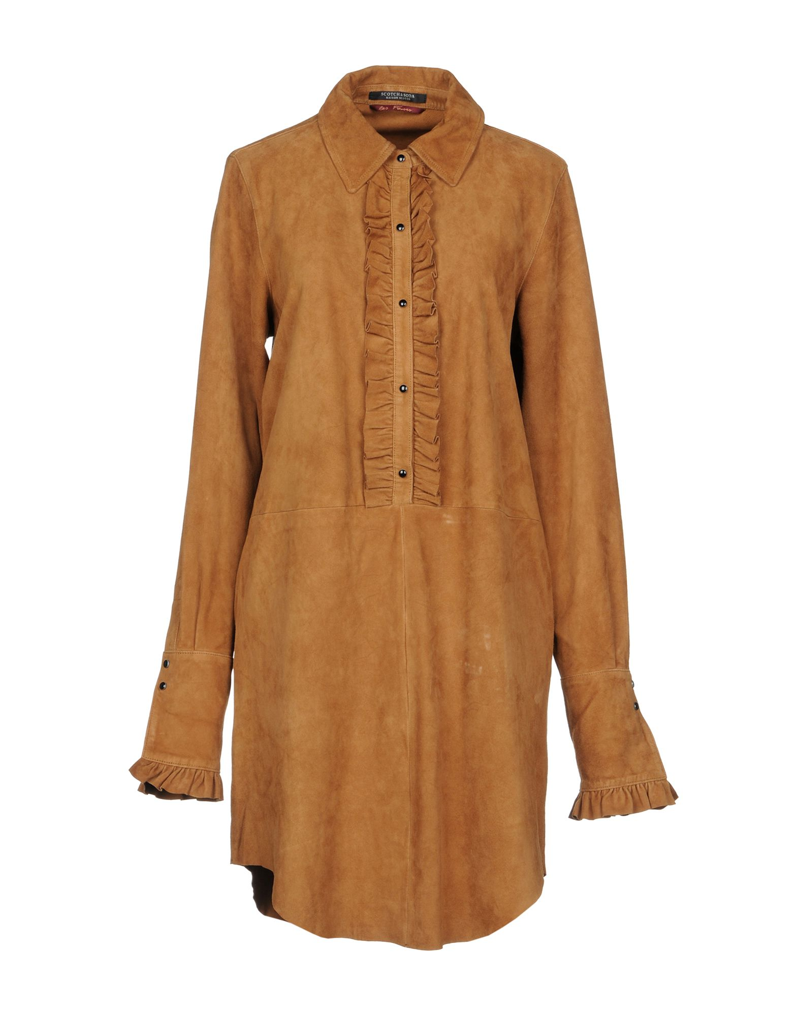MAISON SCOTCH Короткое платье maison scotch рубашка maison scotch 133 1621 0120131137 03