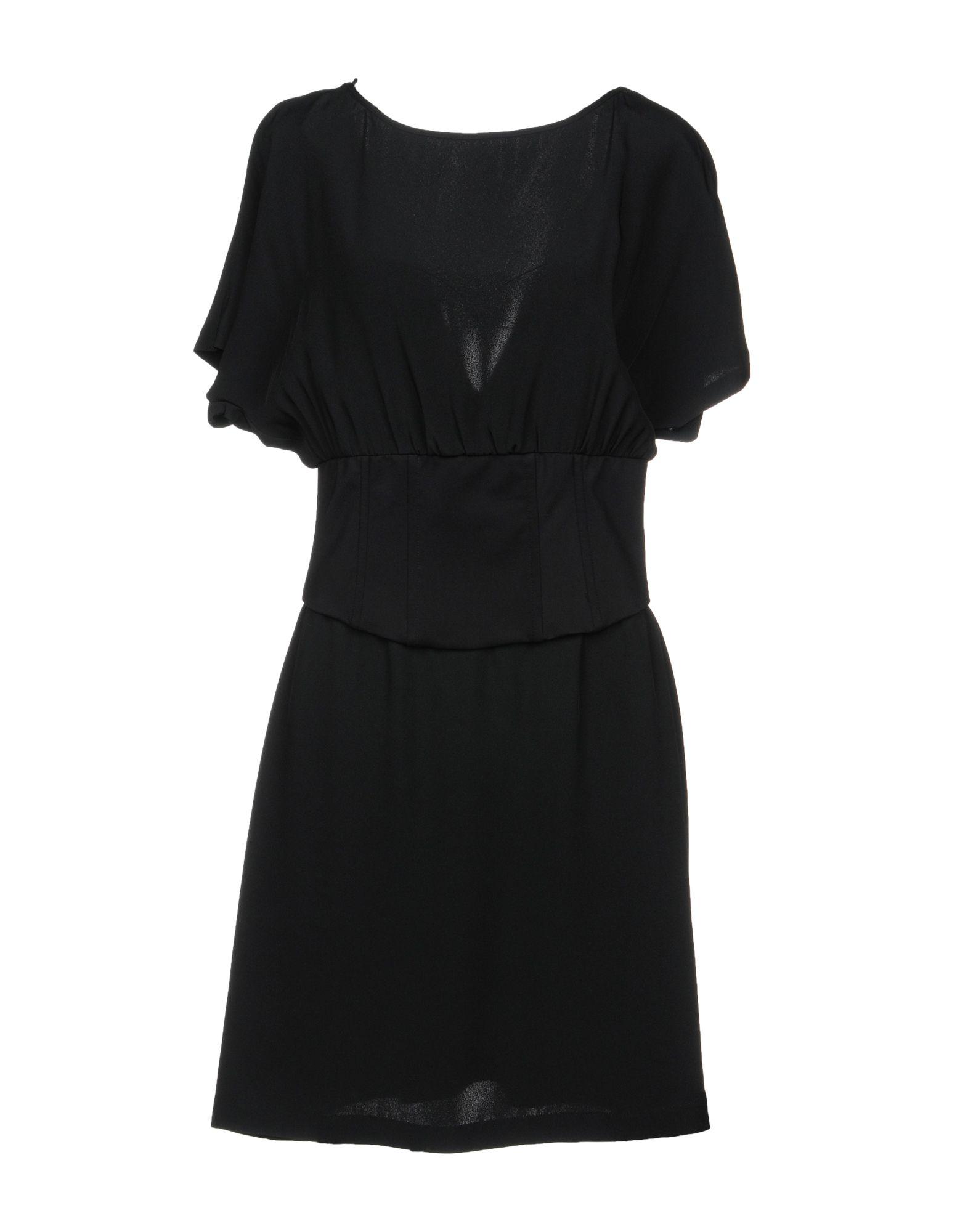 PINKO Damen Kurzes Kleid6 schwarz