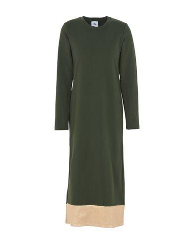Фото - Платье длиной 3/4 от LE VOLIÈRE темно-зеленого цвета