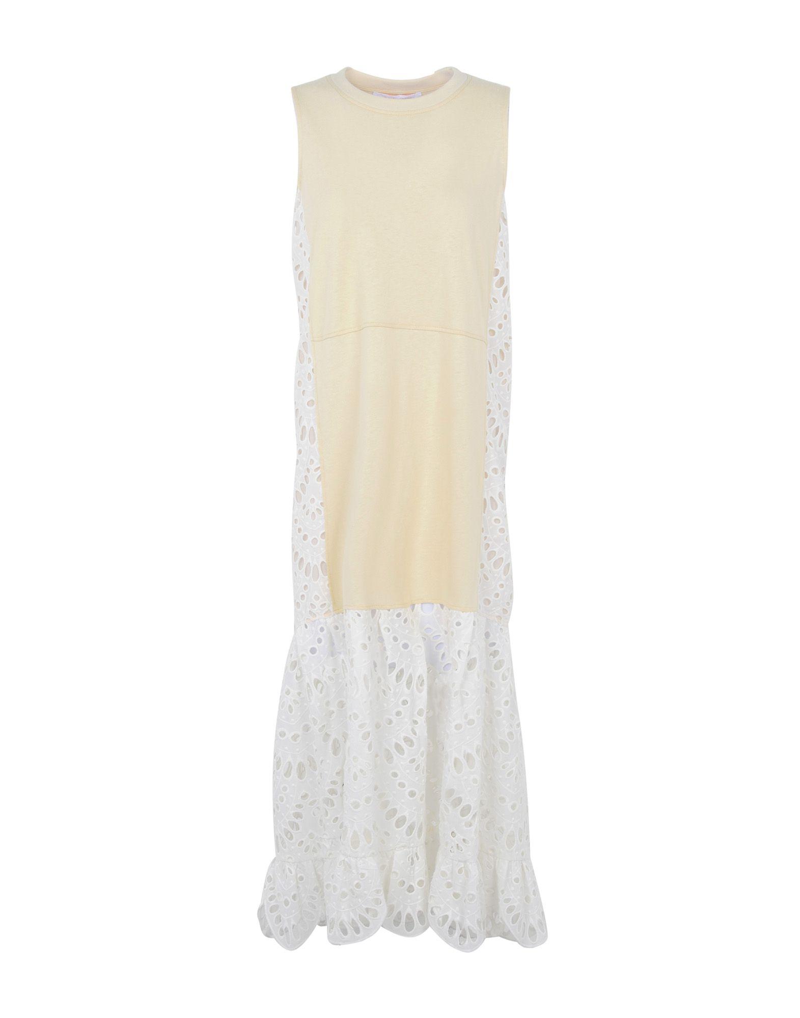 SEE BY CHLOÉ Платье длиной 3/4 see by chloé платье длиной 3 4