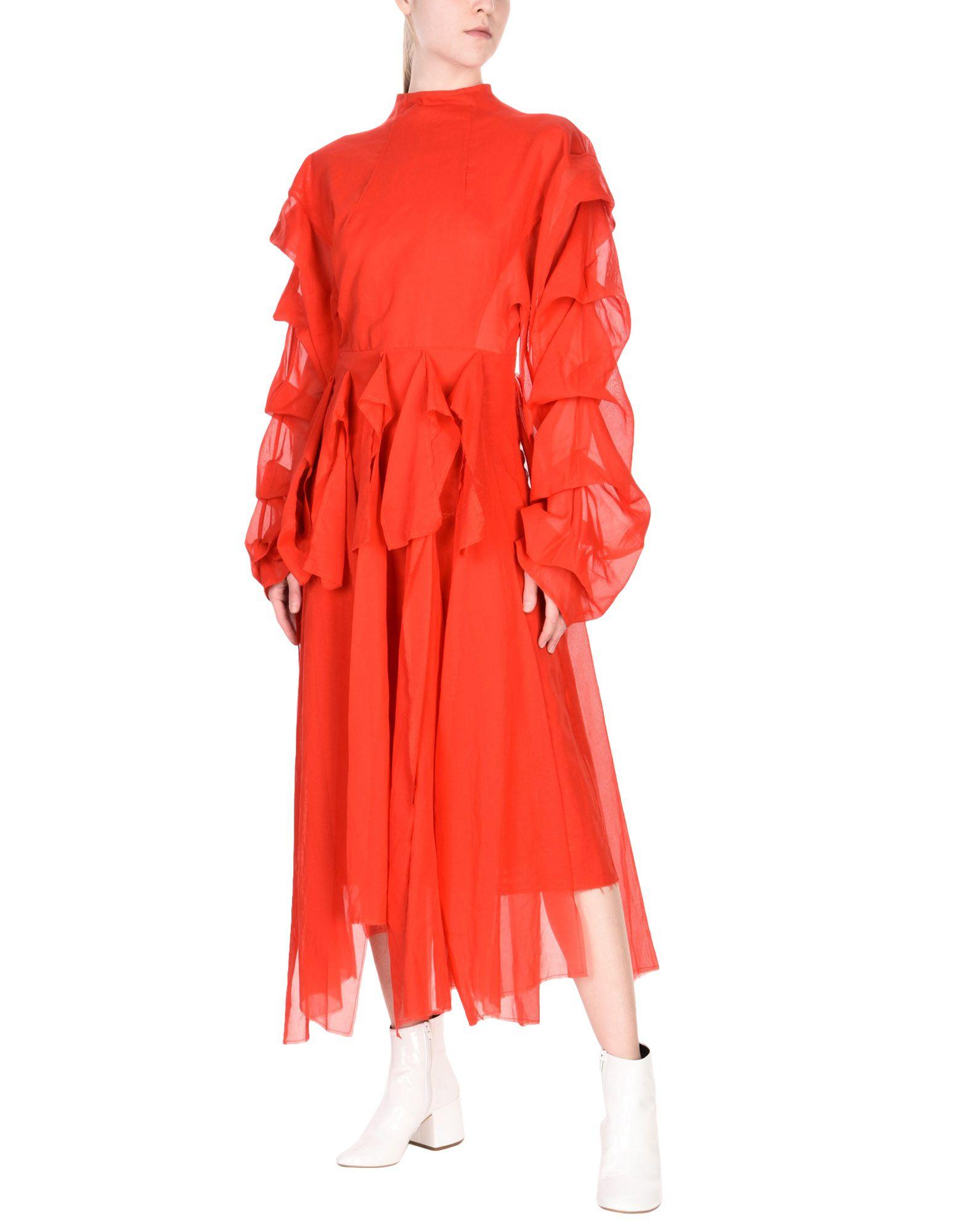 A.W.A.K.E. Платье длиной 3/4 lisa corti платье длиной 3 4