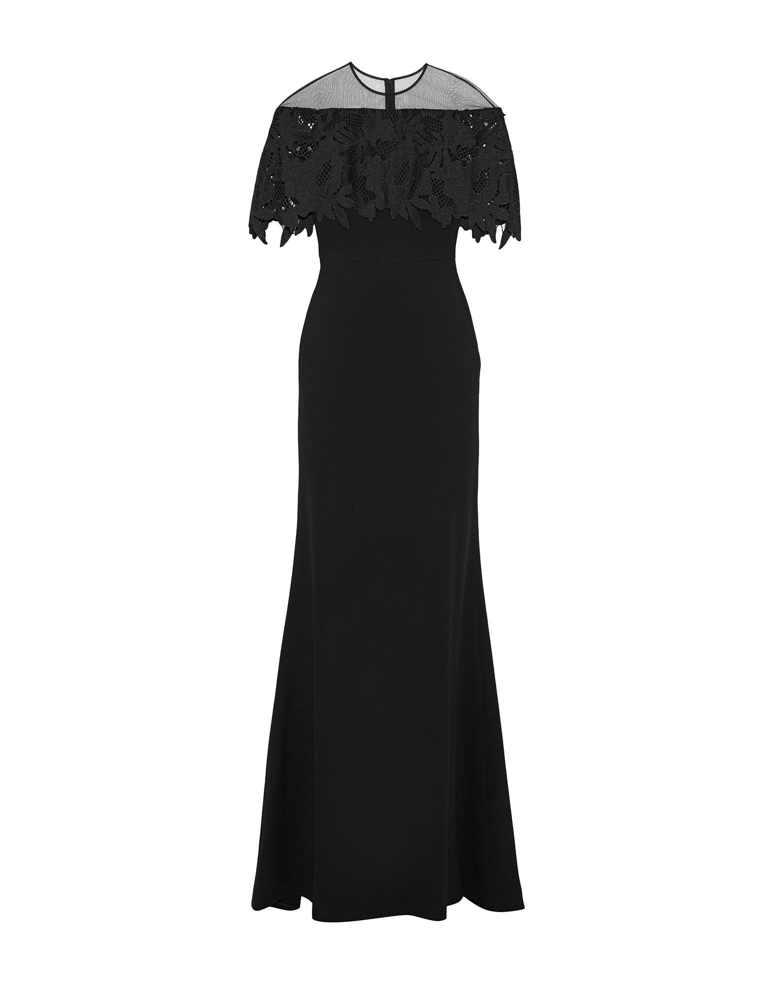 LELA ROSE Длинное платье