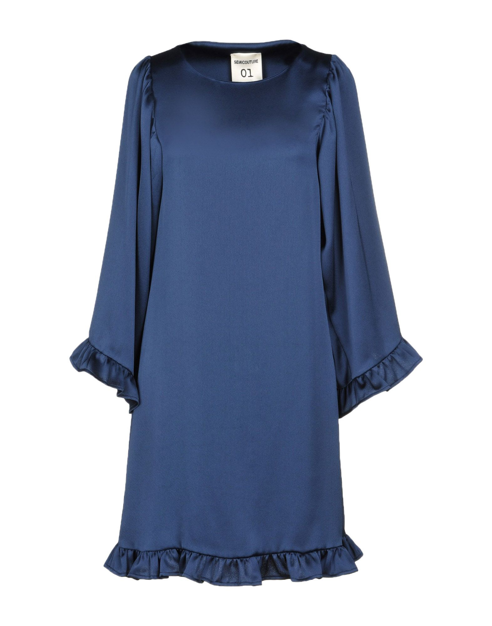 SEMICOUTURE Короткое платье eureka короткое платье