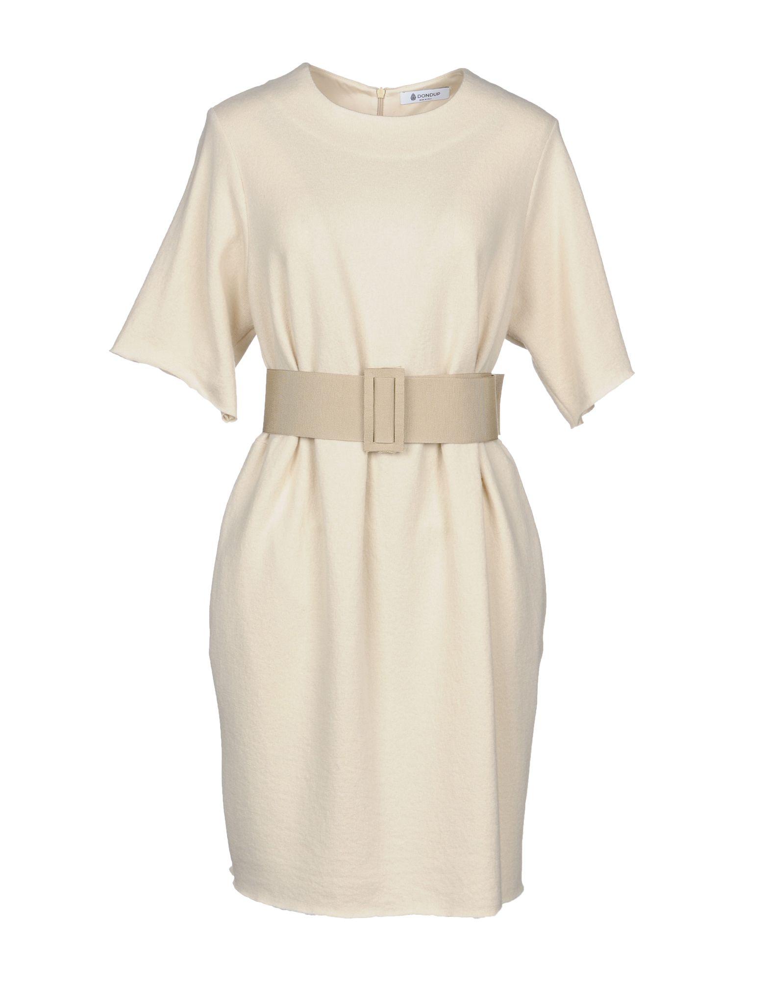 DONDUP Короткое платье dondup ремень
