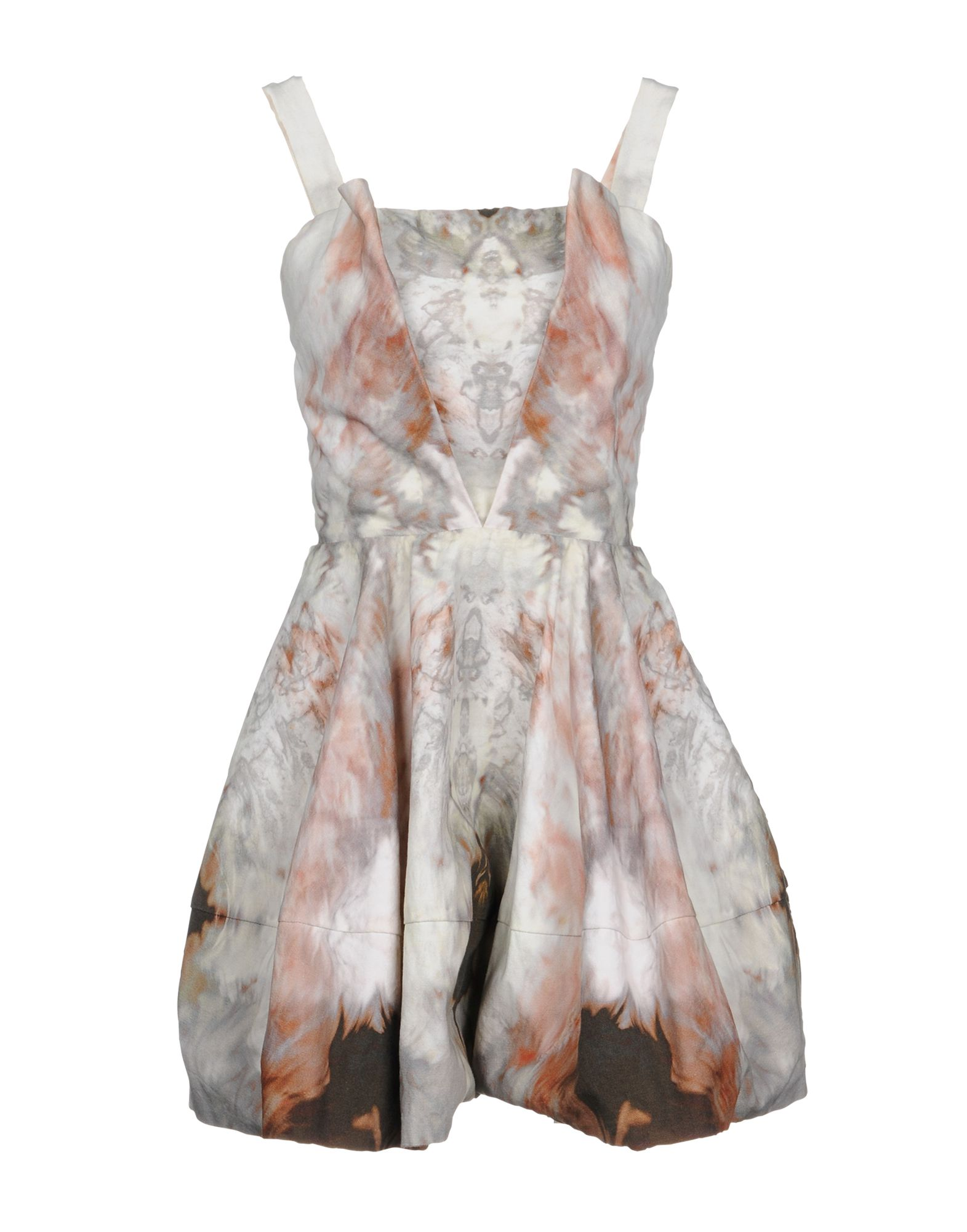 MARIA GRACHVOGEL Short Dress in Beige