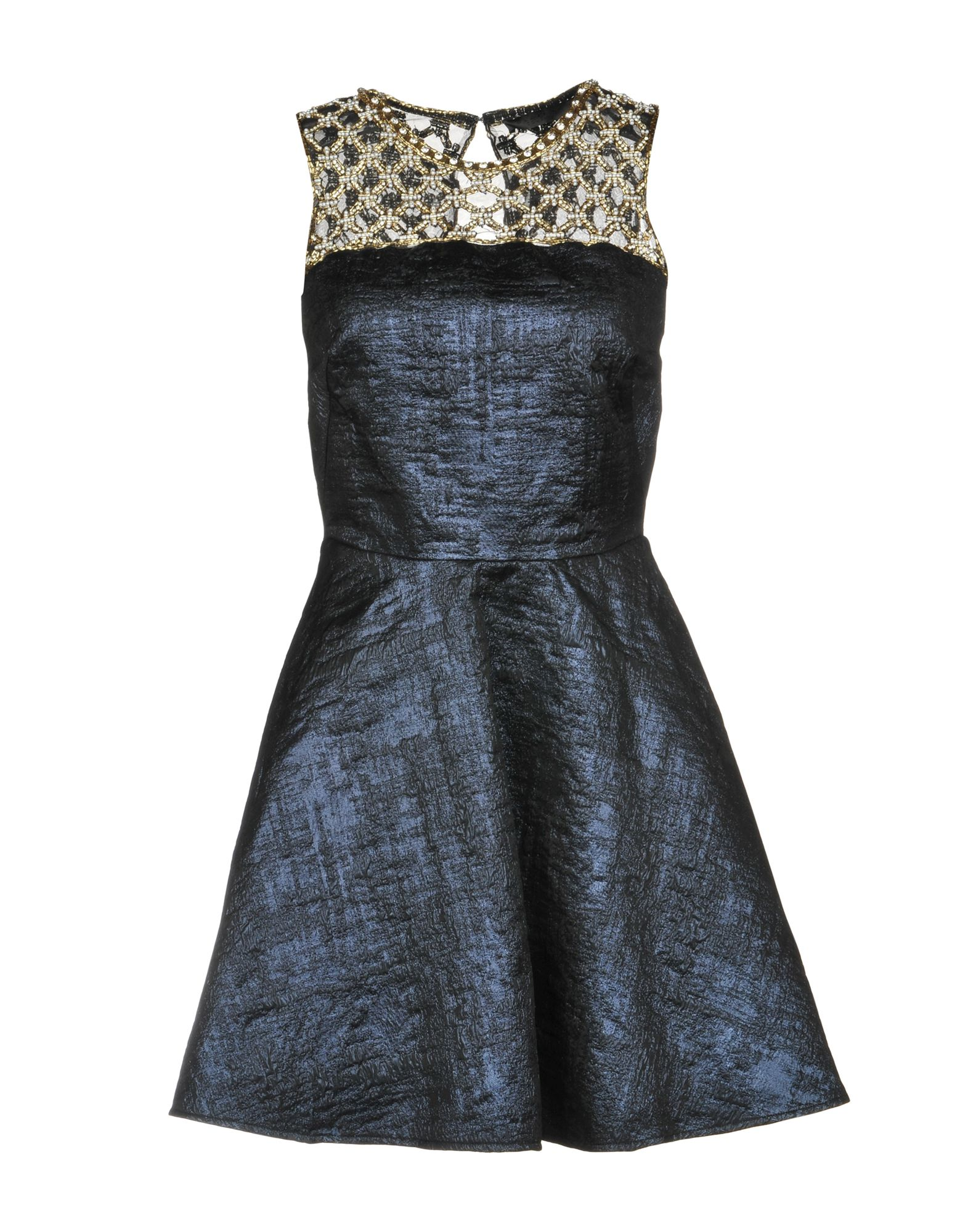 AMEN COUTURE Short Dresses in Dark Blue