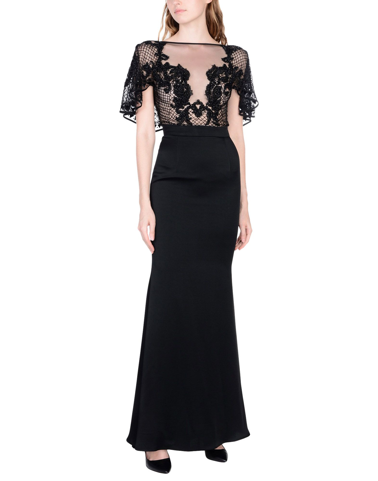 AMEN COUTURE Long Dress in Black