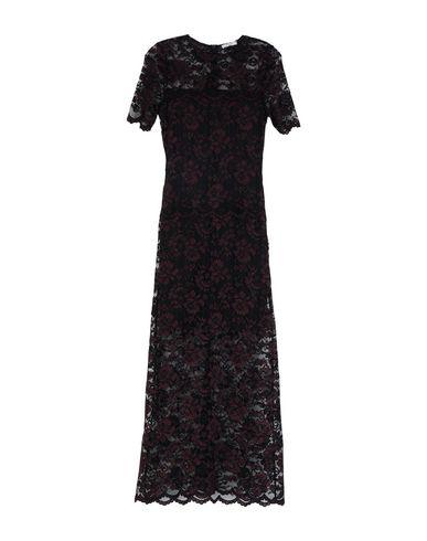 Фото - Женское длинное платье  красно-коричневого цвета