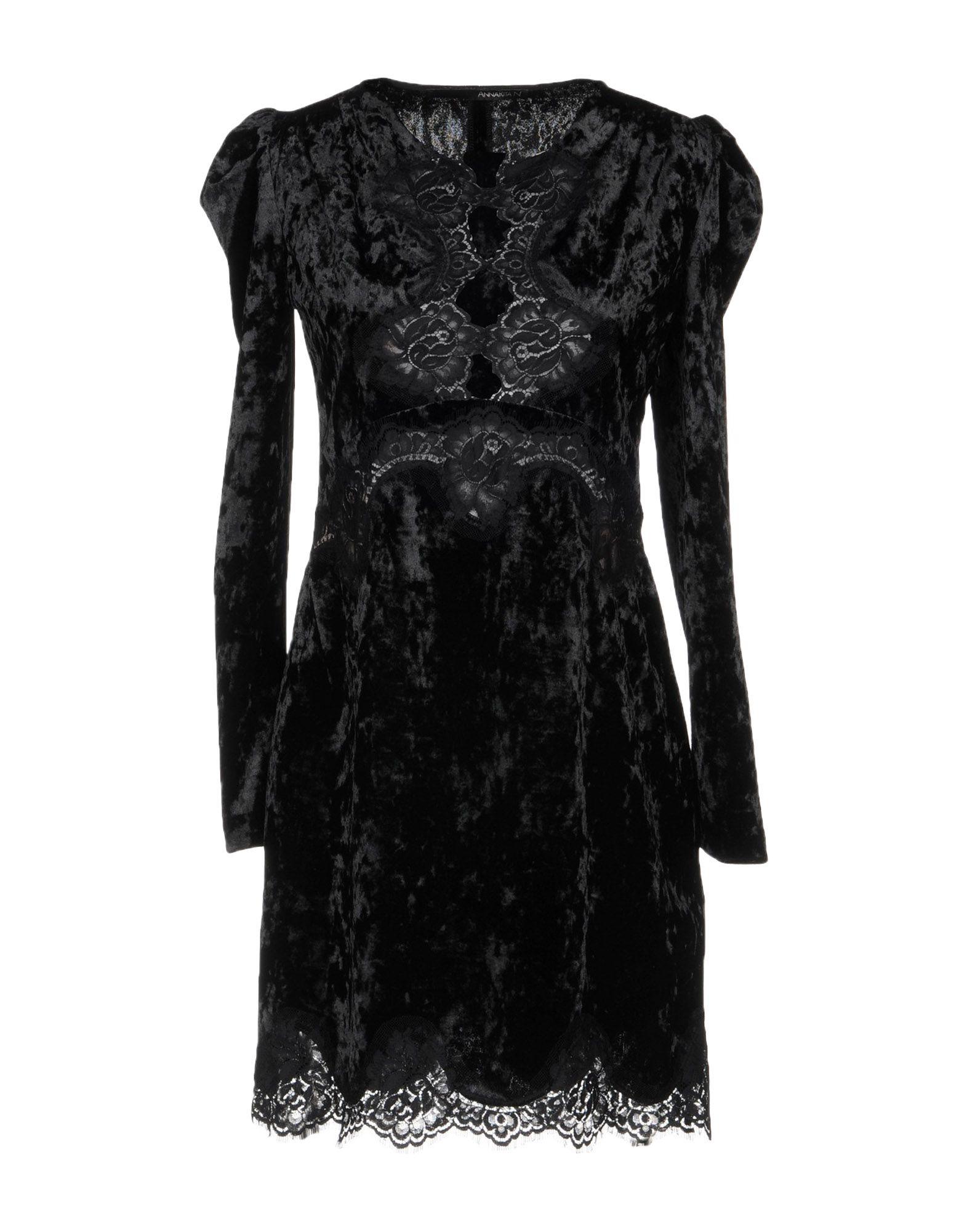 ANNARITA N. Короткое платье платье