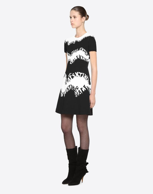 Valentino Waves Knit Dress